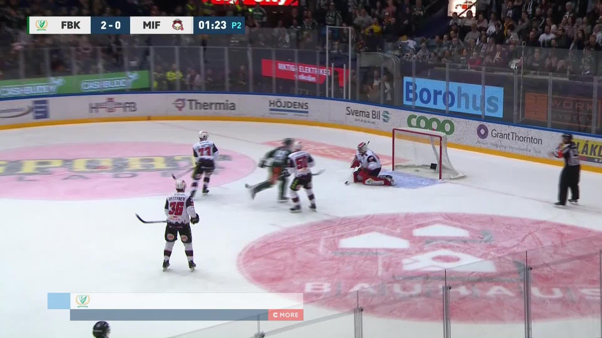 Färjestad BK - Malmö Redhawks 3-0