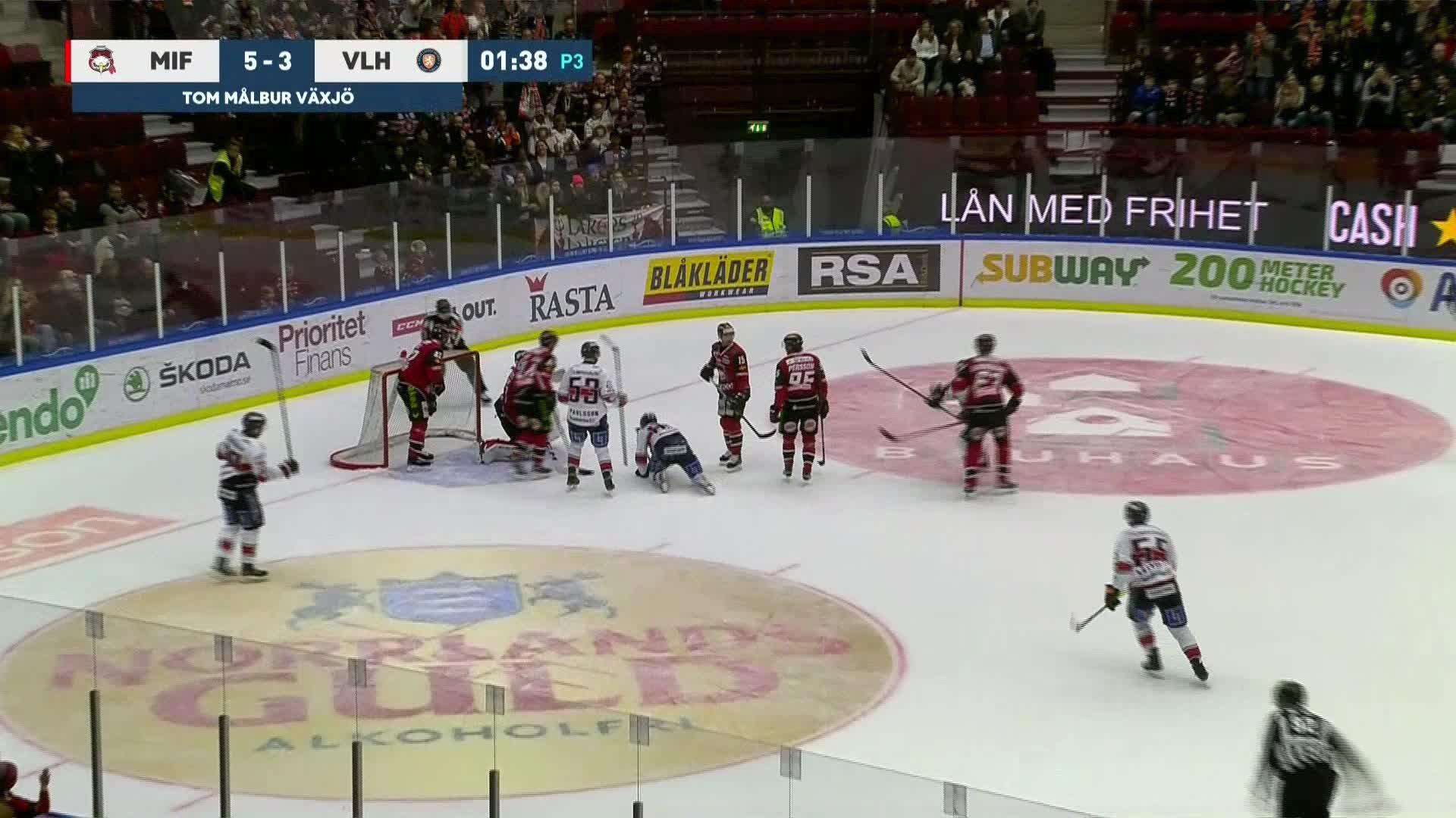 Malmö Redhawks - Växjö Lakers 5-4
