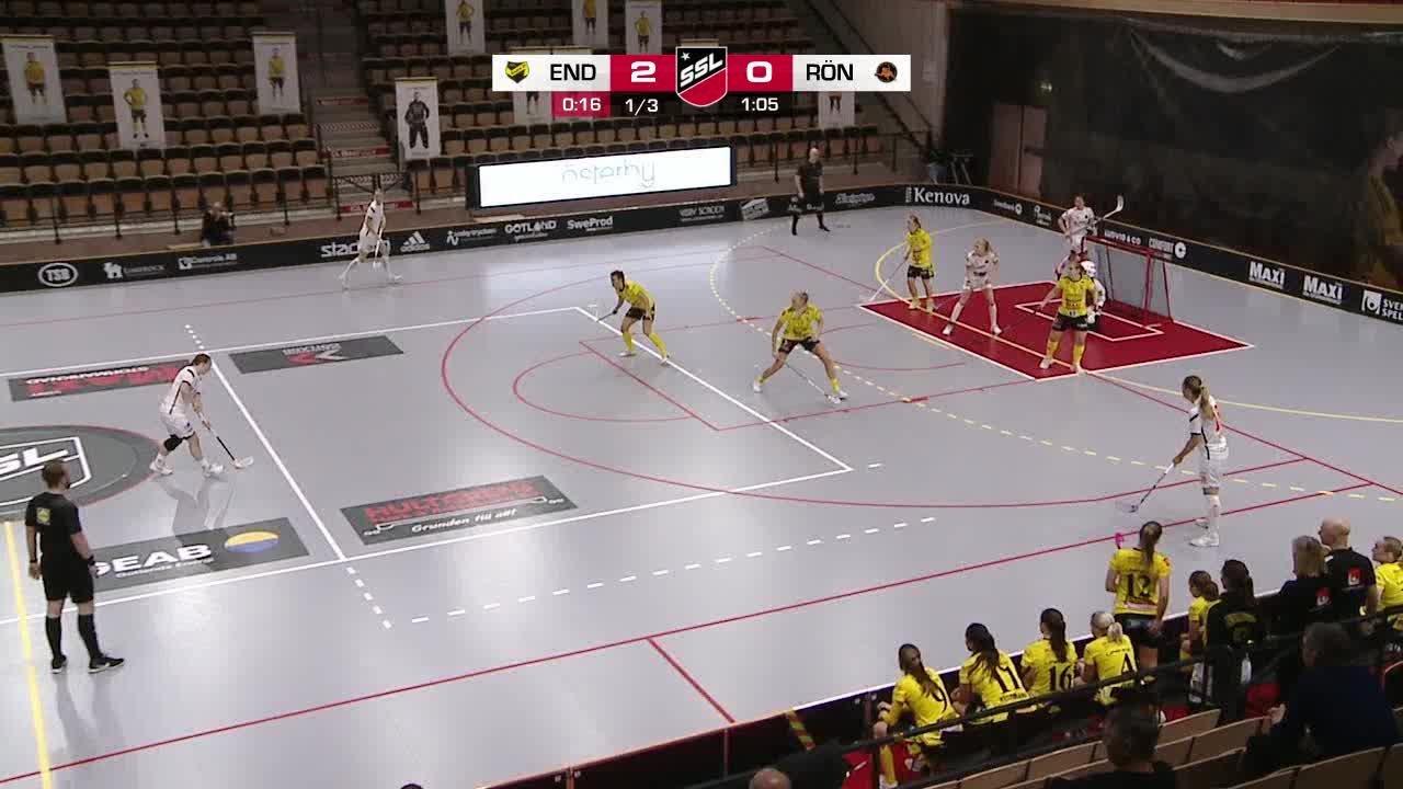 Highlights: Endre IF - Västerås Rönnby IBK