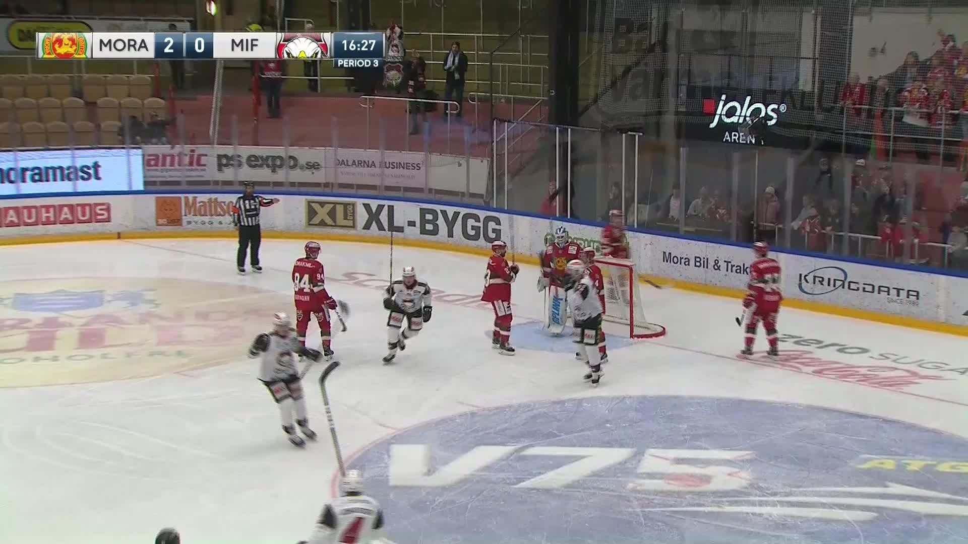 Mora IK - Malmö Redhawks 2-1