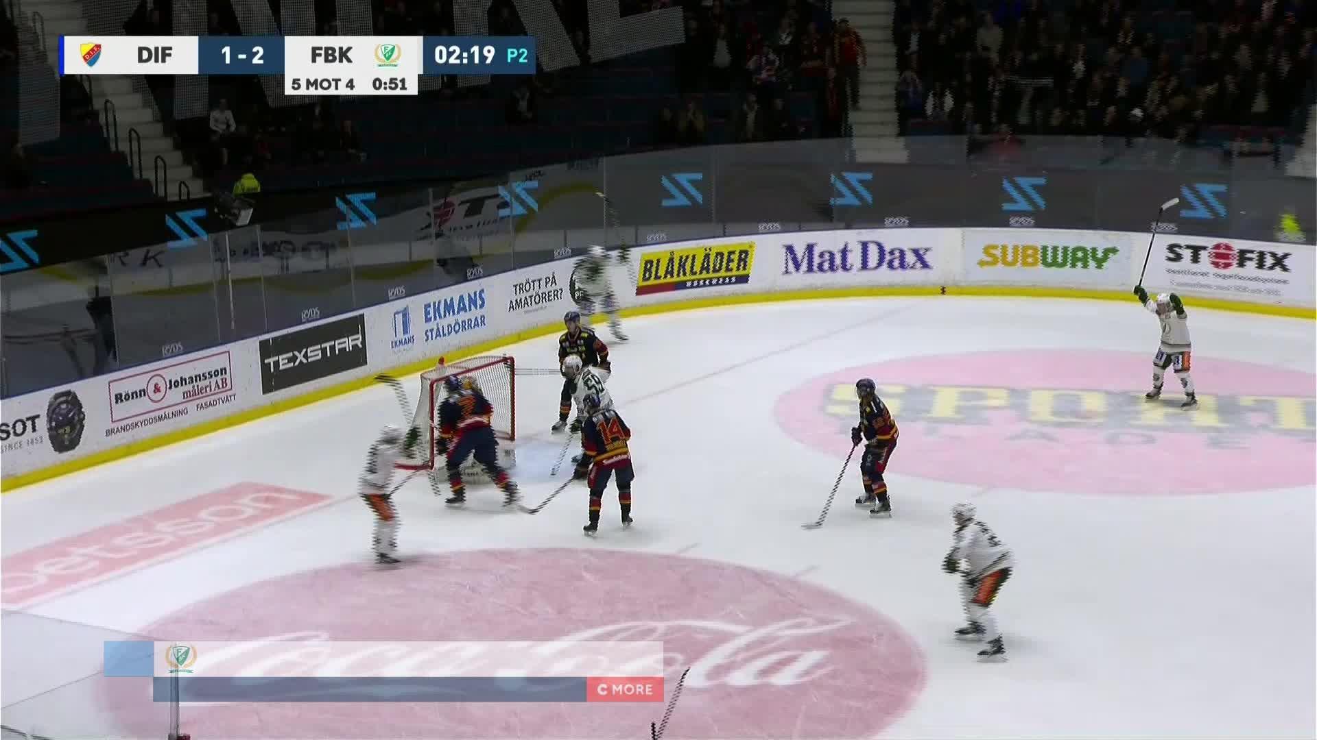 Djurgården Hockey - Färjestad BK 1-3