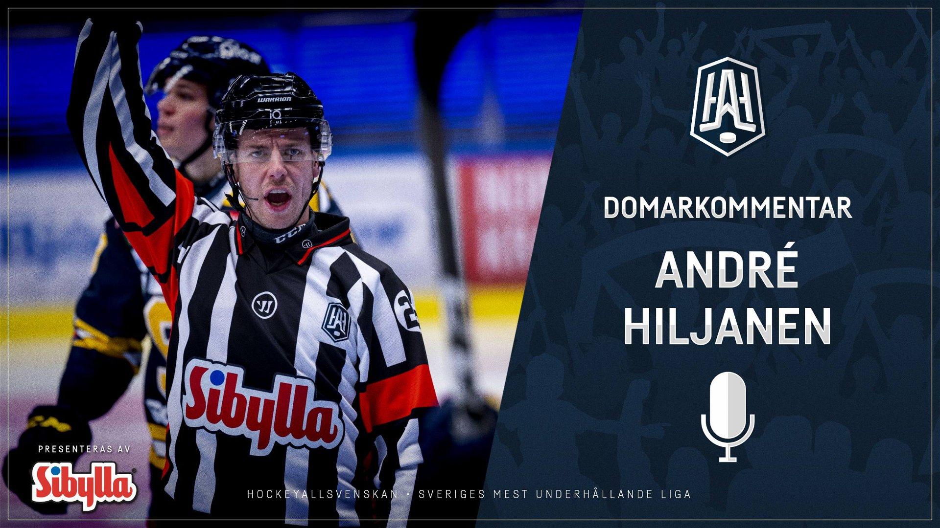 Domarkommentar: André Hiljanen