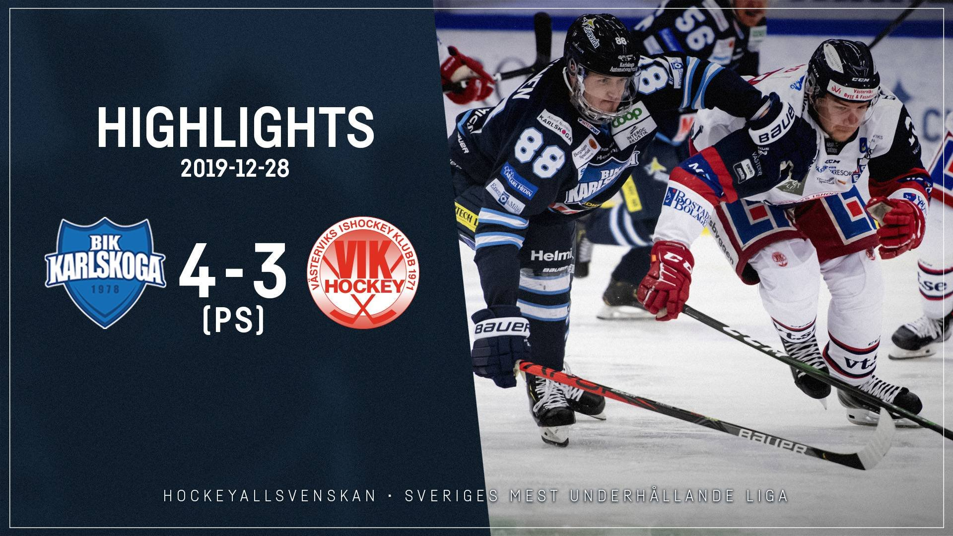 2019-12-28 Karlskoga - Västervik 4-3 (PS)