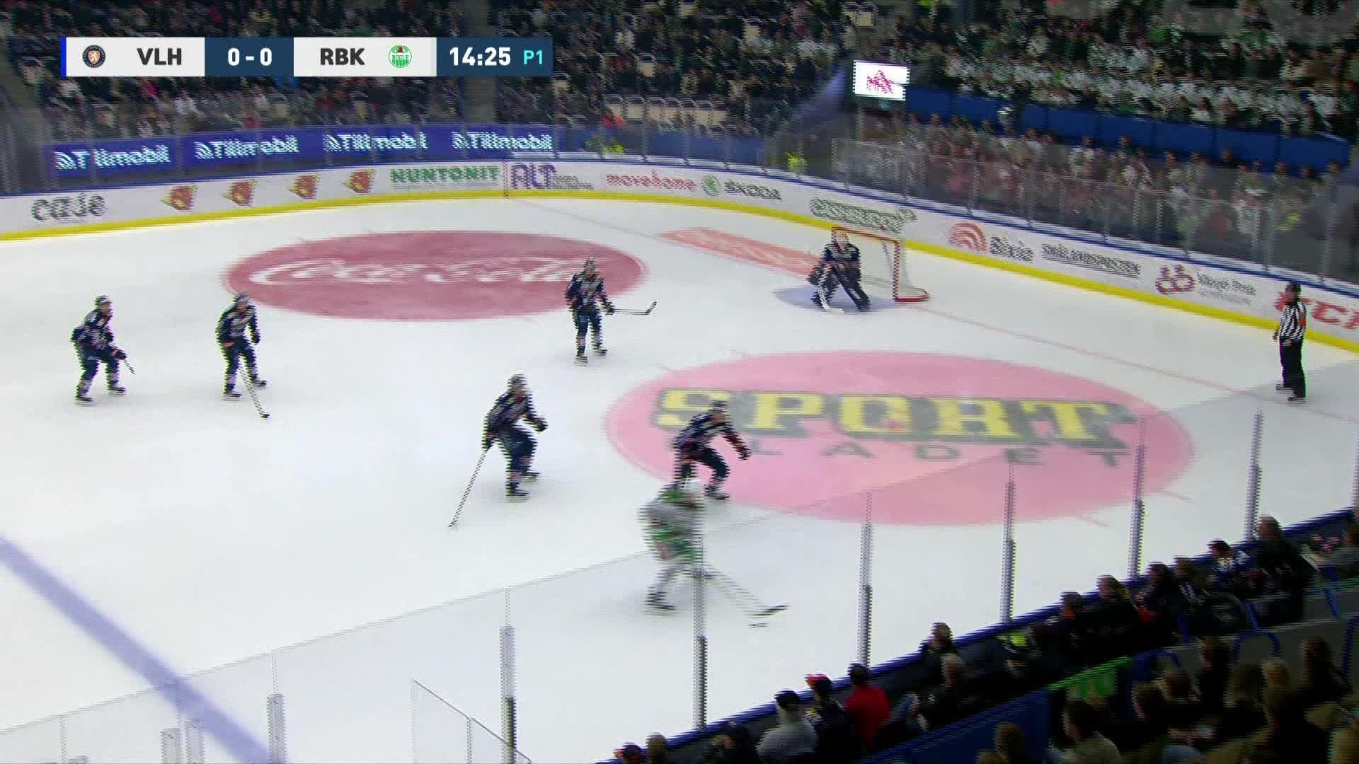 Växjö Lakers - Rögle BK 0-1