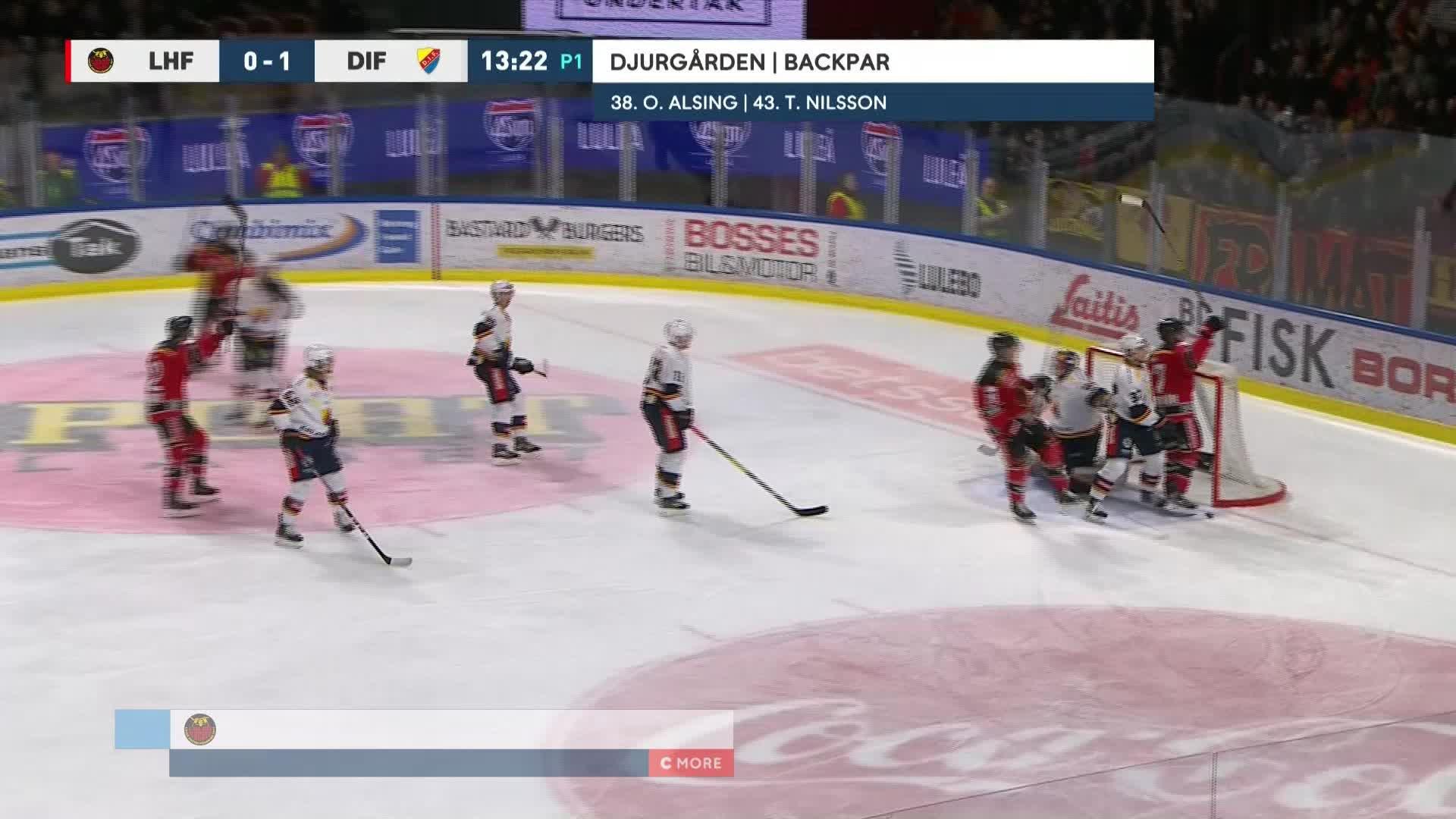 Luleå Hockey - Djurgården Hockey 1-1