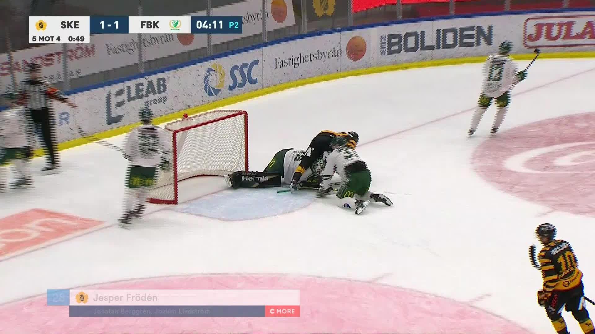 Skellefteå AIK - Färjestad BK 2-1