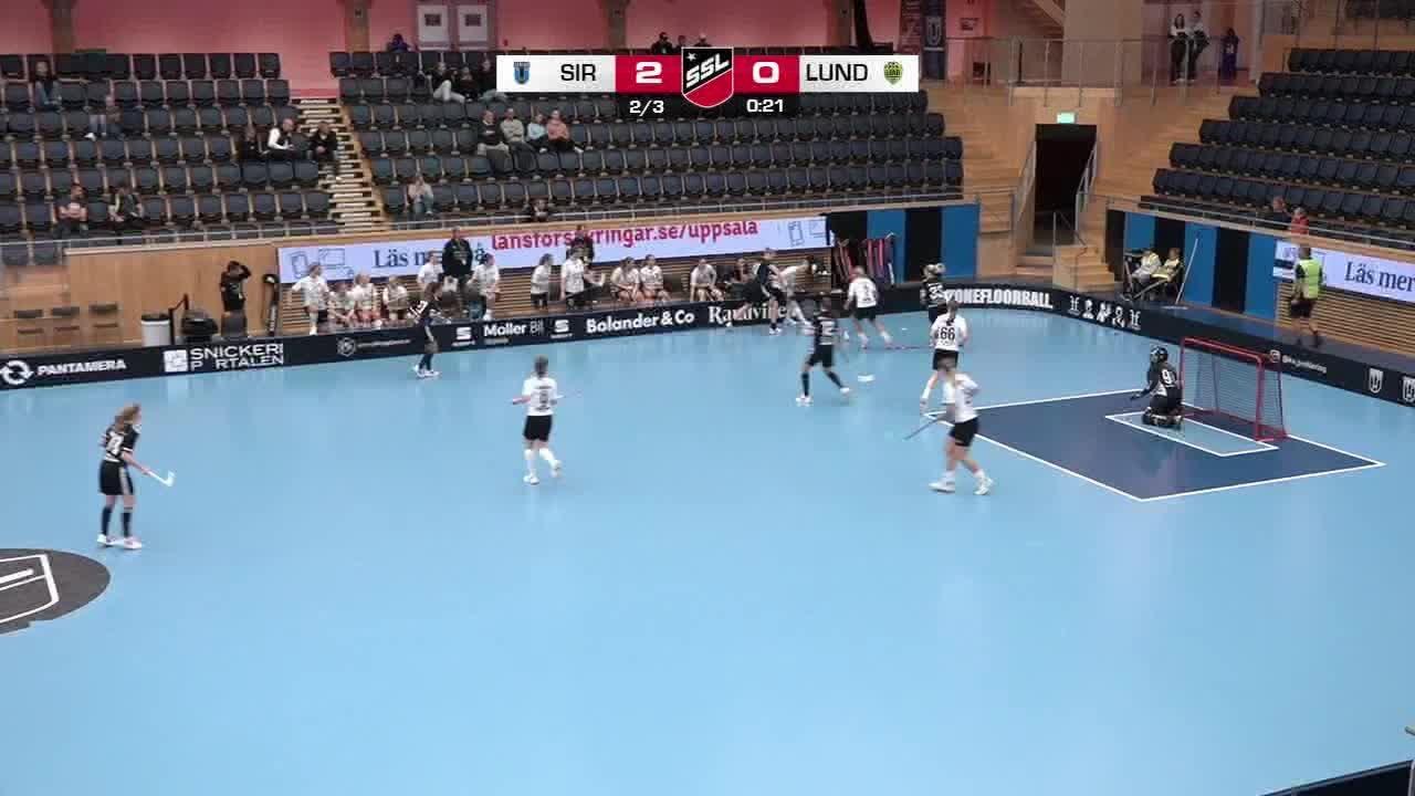 Highlights: Sirius Innebandy-IBK Lund