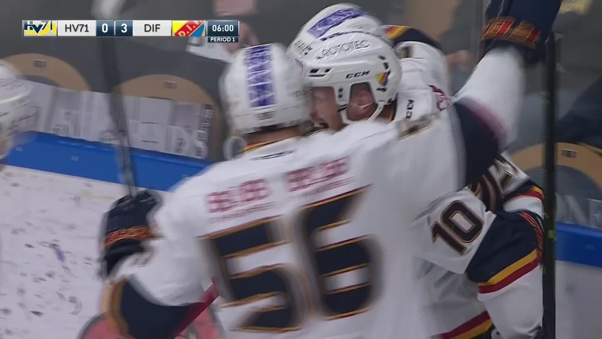 HV71 - Djurgården Hockey 0-3