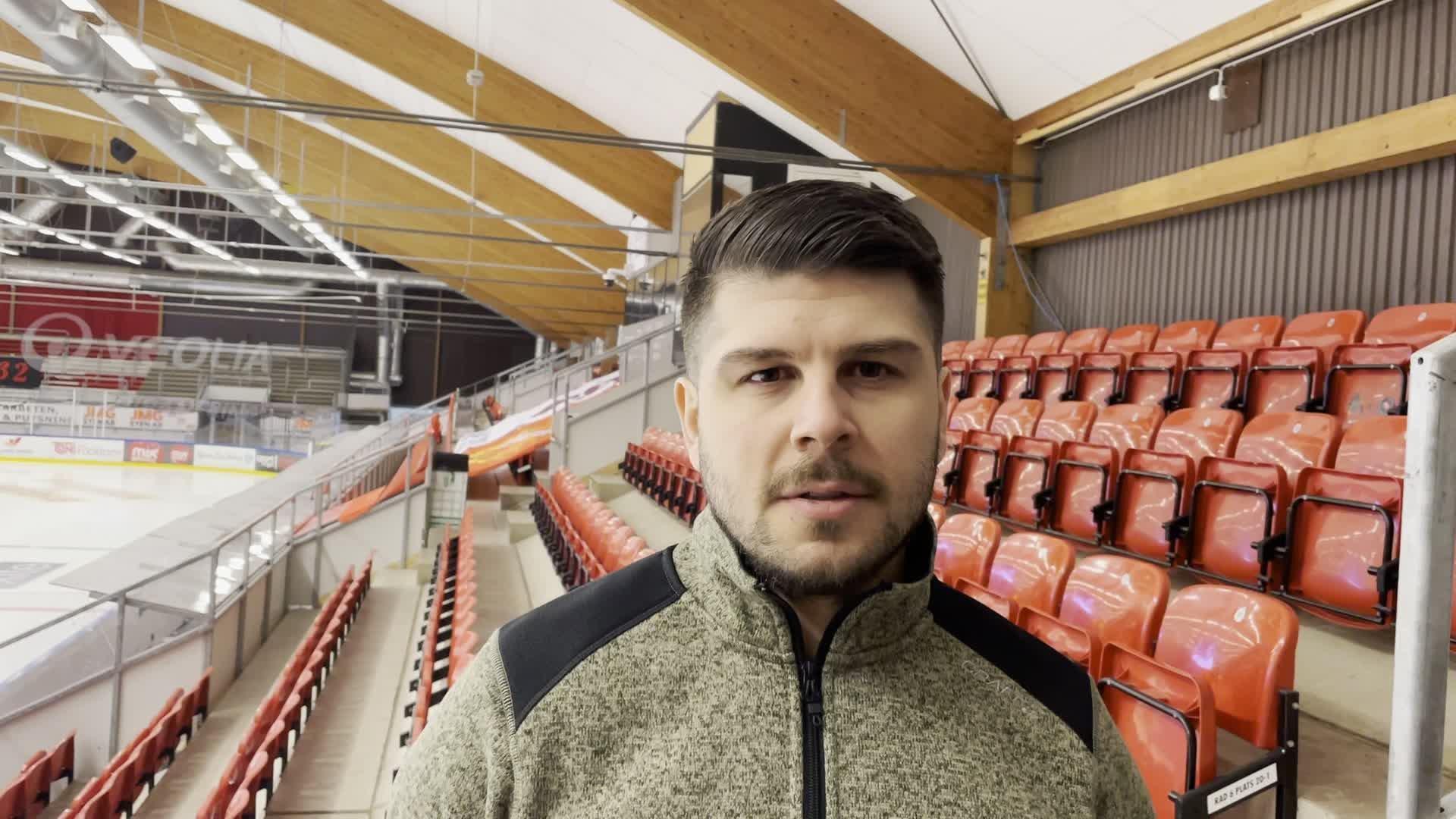 Serhan Cicek efter matchen