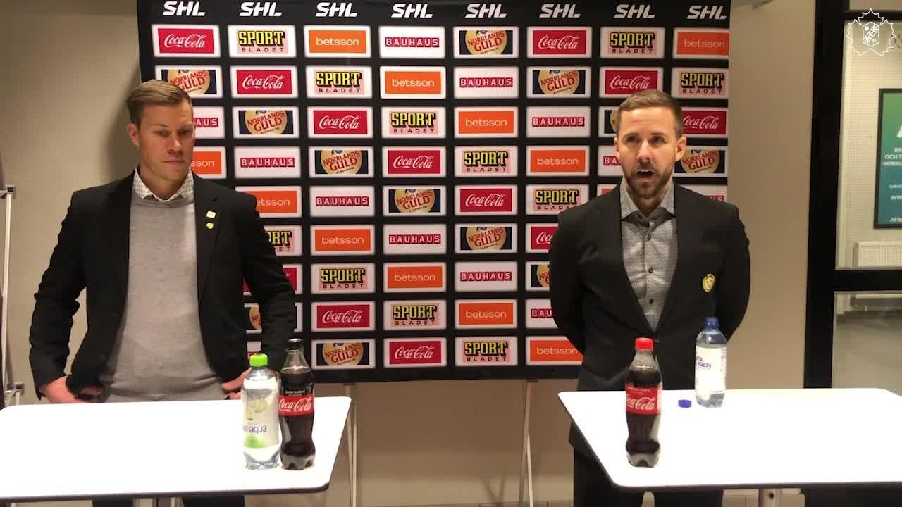 Presskonferens efter SKE - BIF