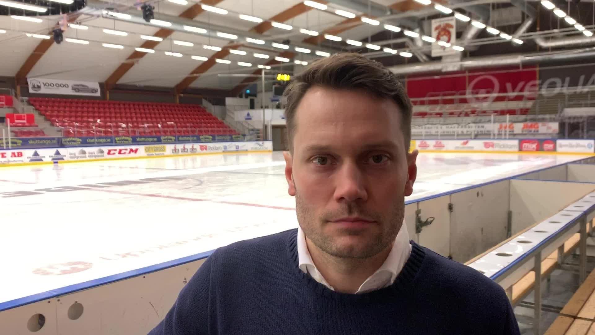Martin Gudmundsson efter Vita Hästen