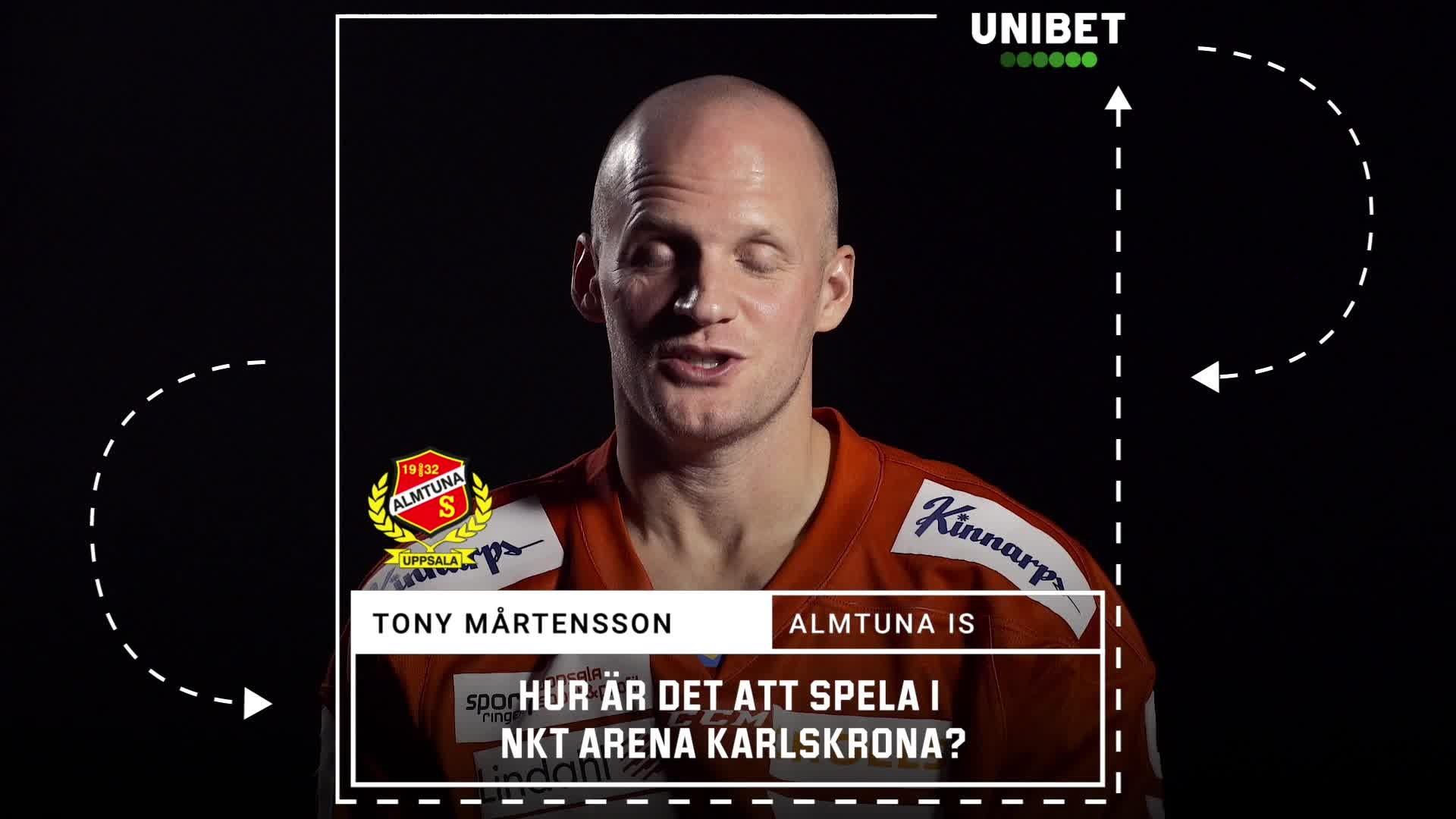 Tony Mårtensson om NKT Arena