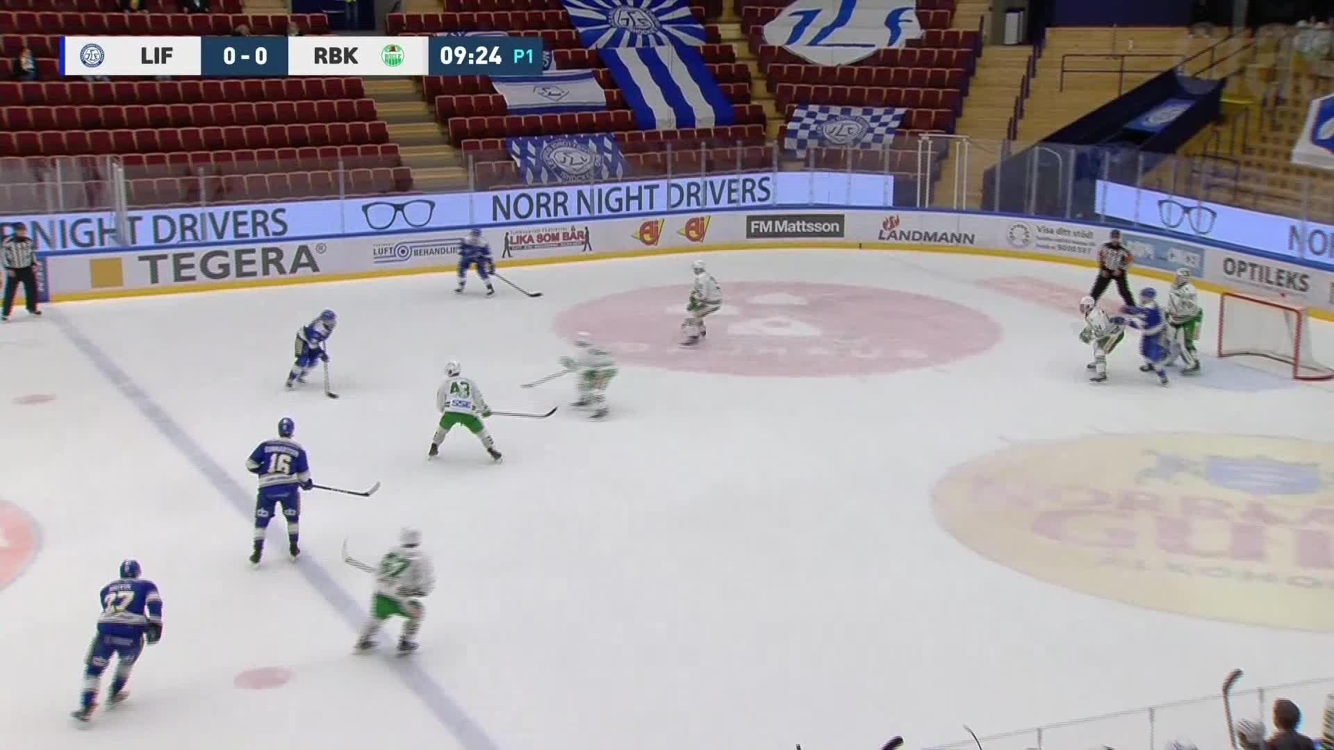 Leksands IF - Rögle BK 1-0