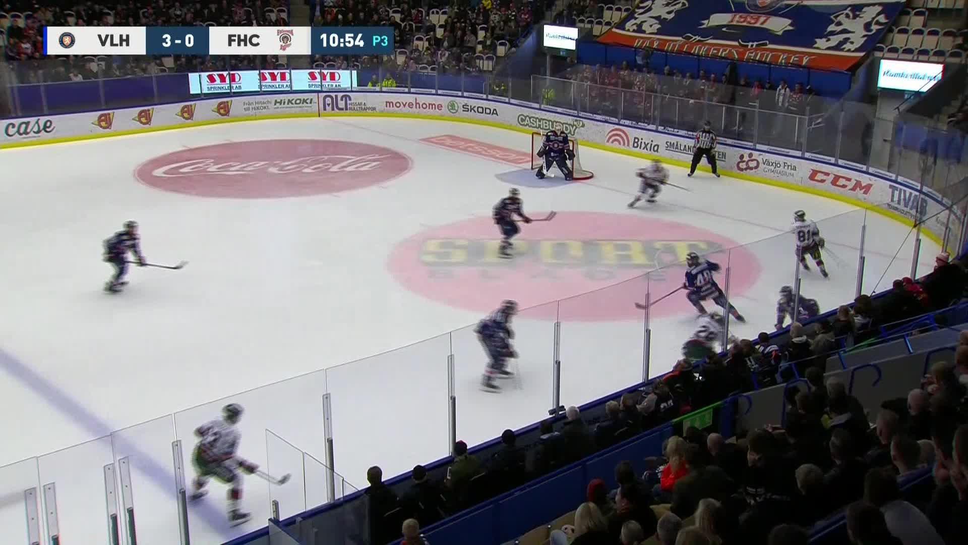 Växjö Lakers - Frölunda HC 3-1