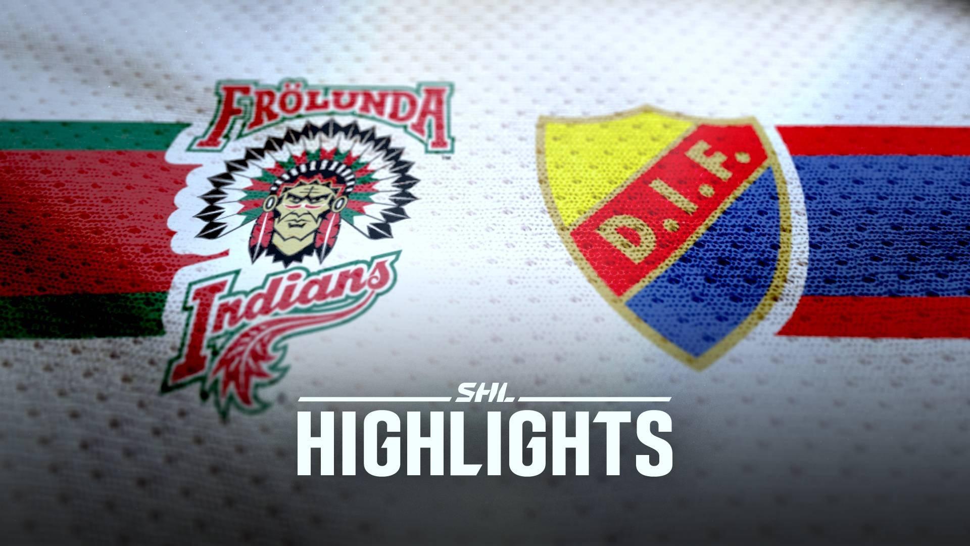 Frölunda HC - Djurgården Hockey