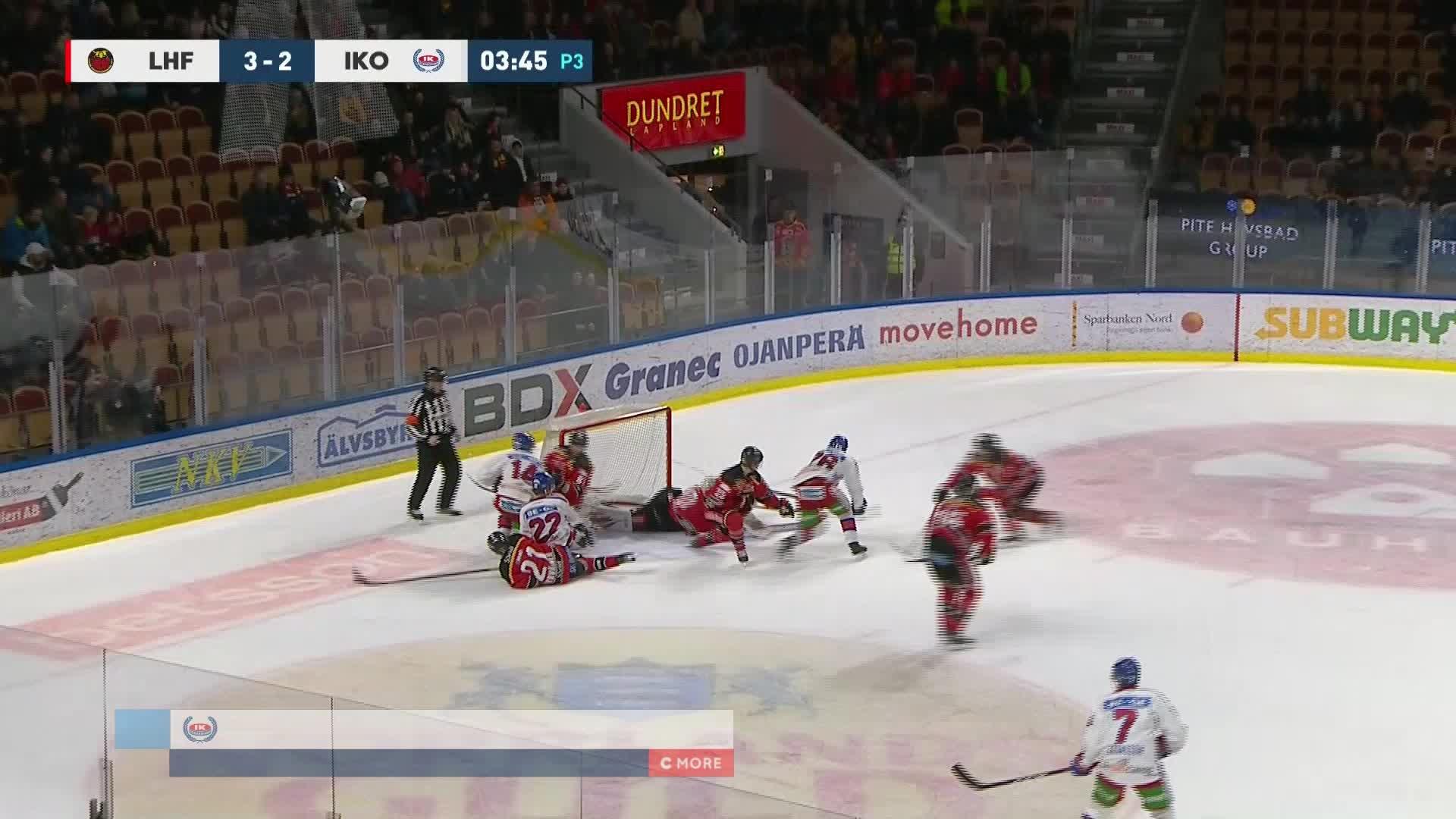 Luleå Hockey - IK Oskarshamn 3-3