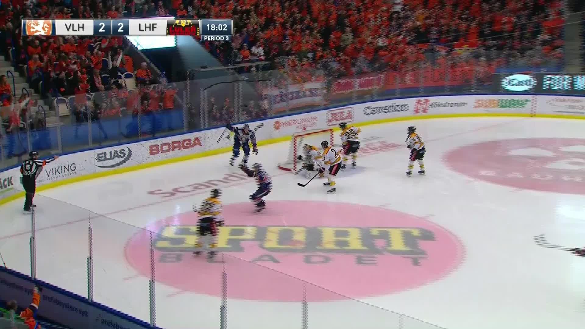 Växjö Lakers - Luleå Hockey 3-2
