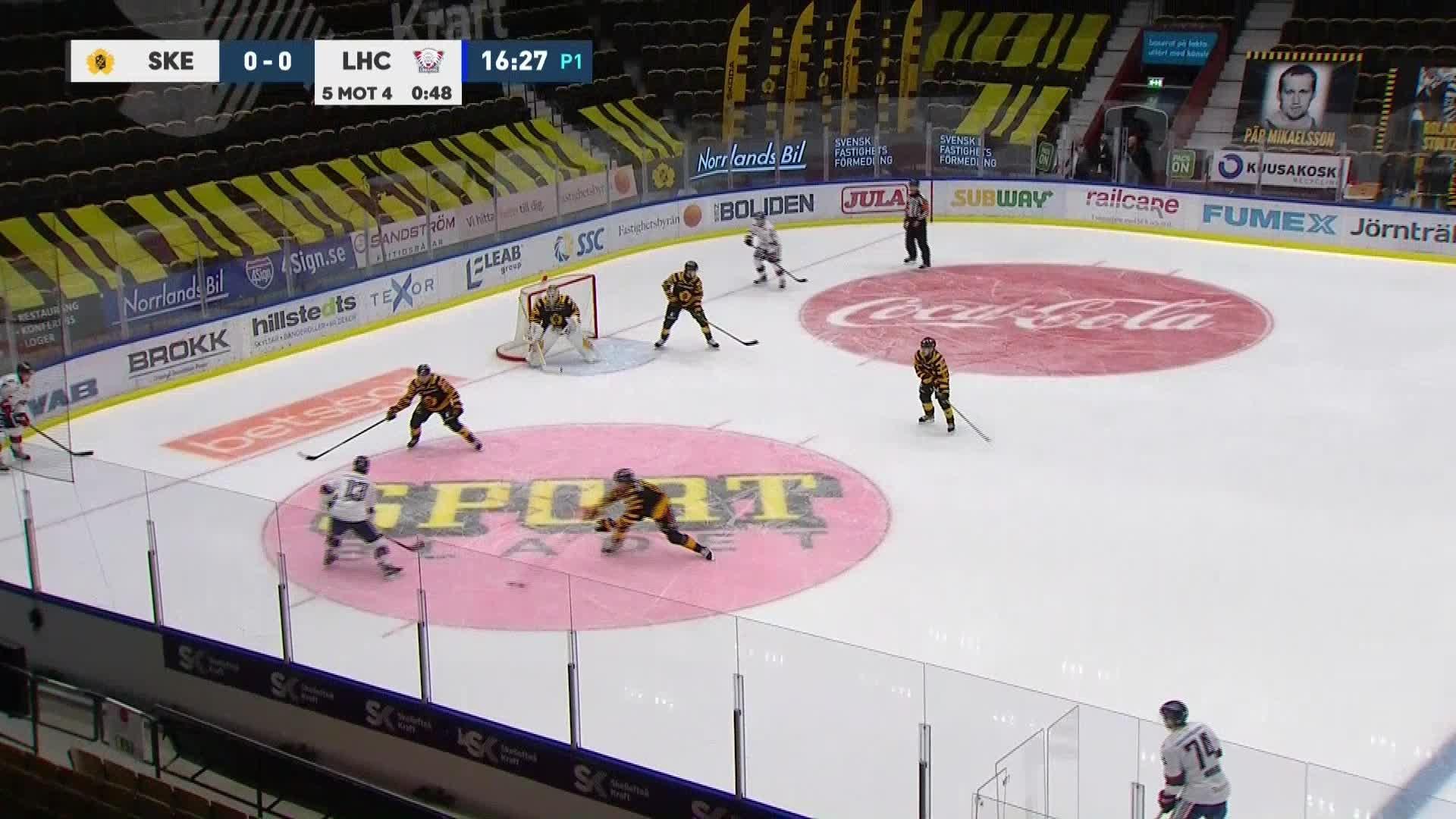 Skellefteå AIK - Linköping HC 0-1