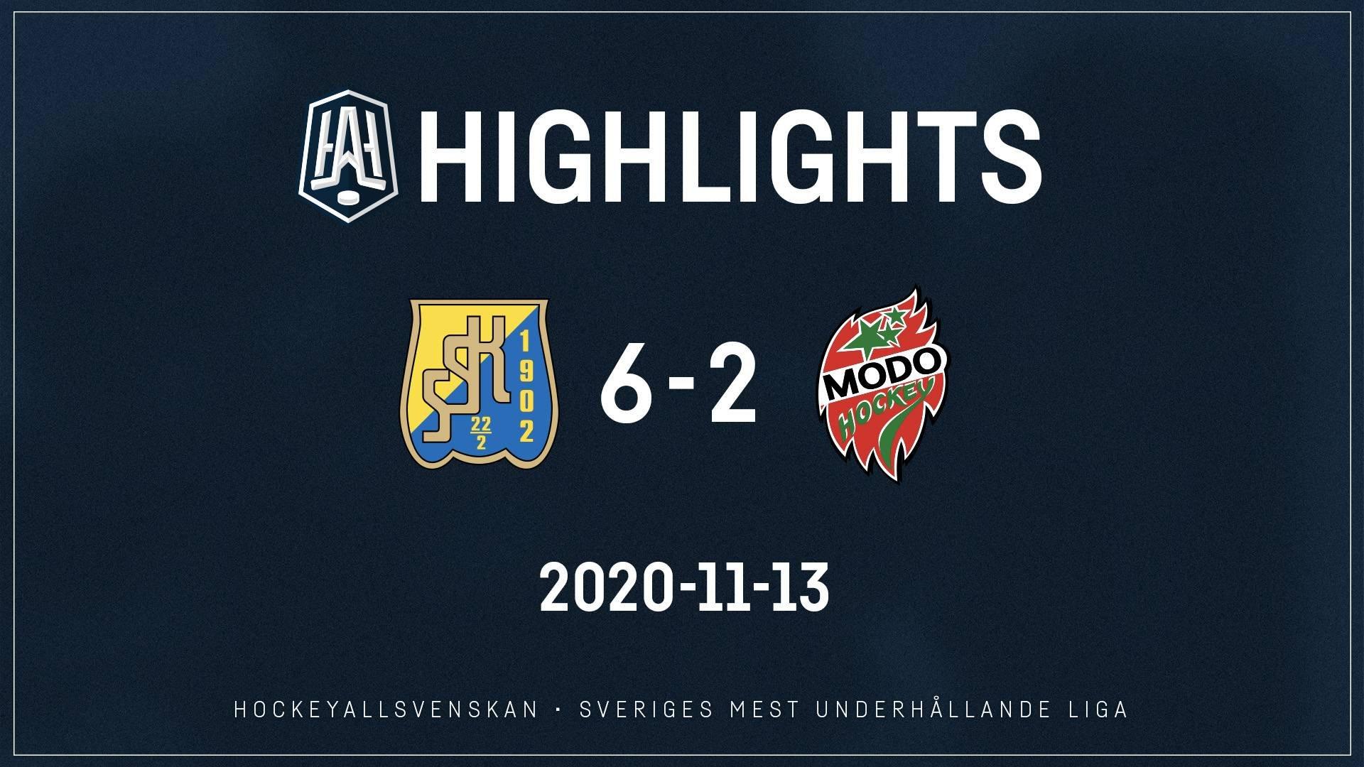2020-11-13 Södertälje - MODO 6-2