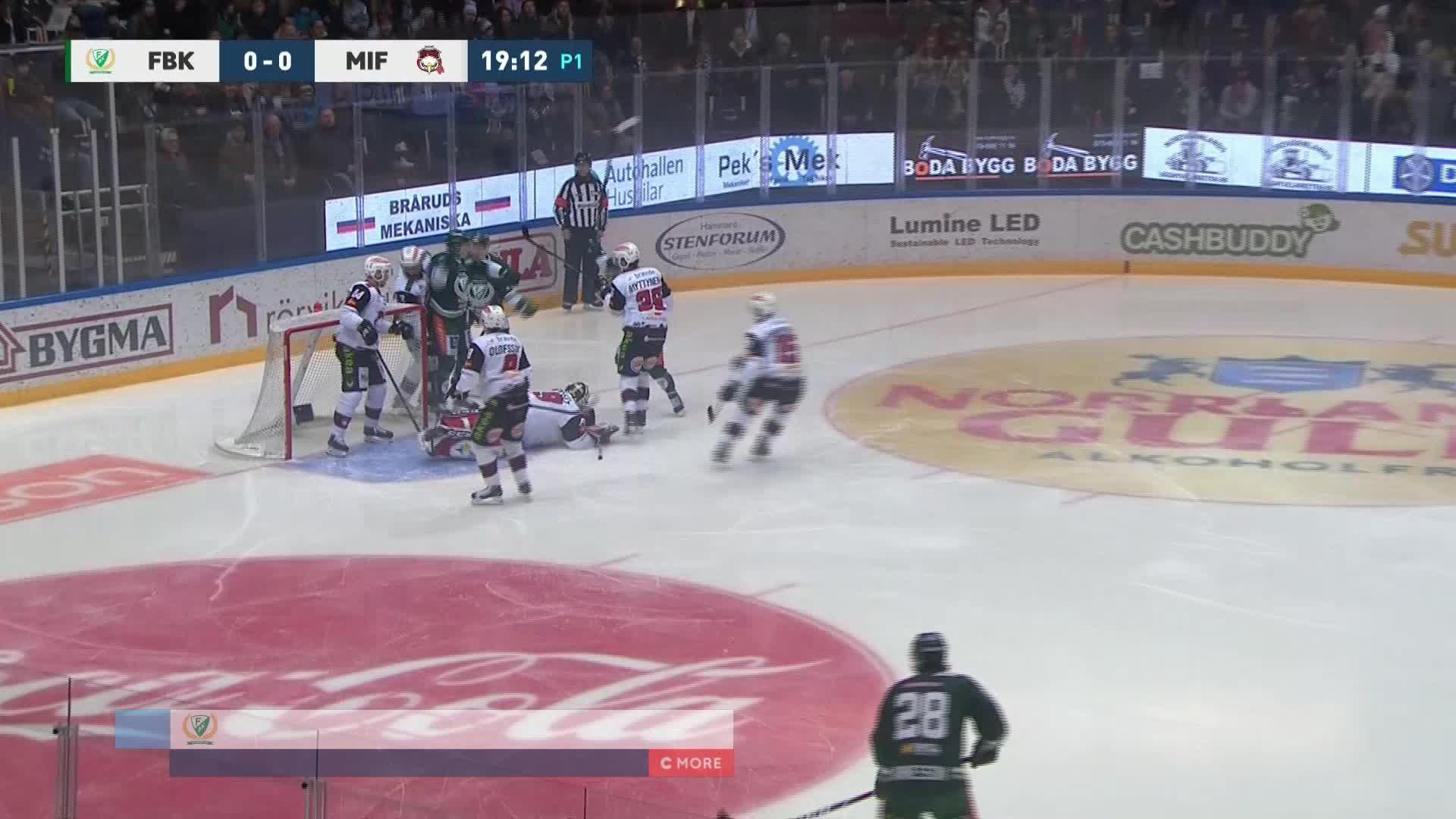Färjestad BK - Malmö Redhawks 1-0