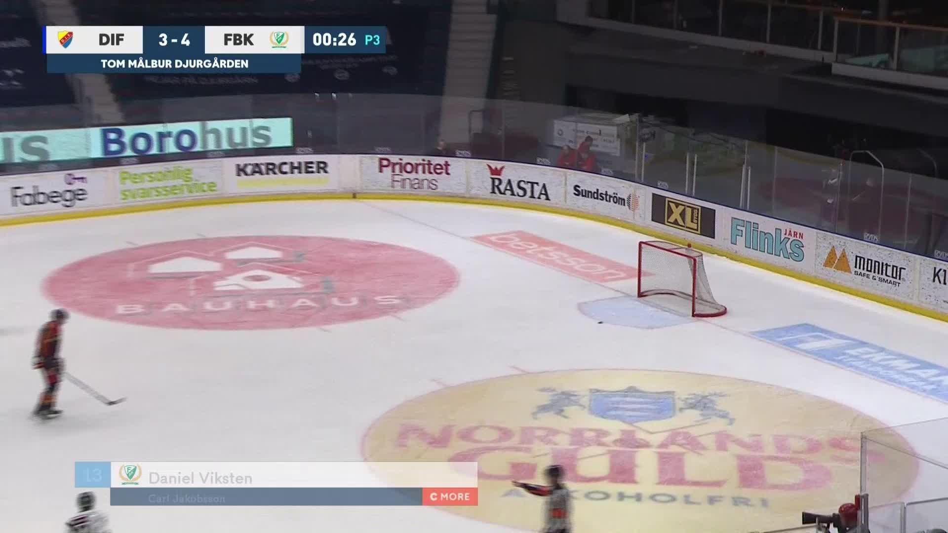 Djurgården Hockey - Färjestad BK 3-5