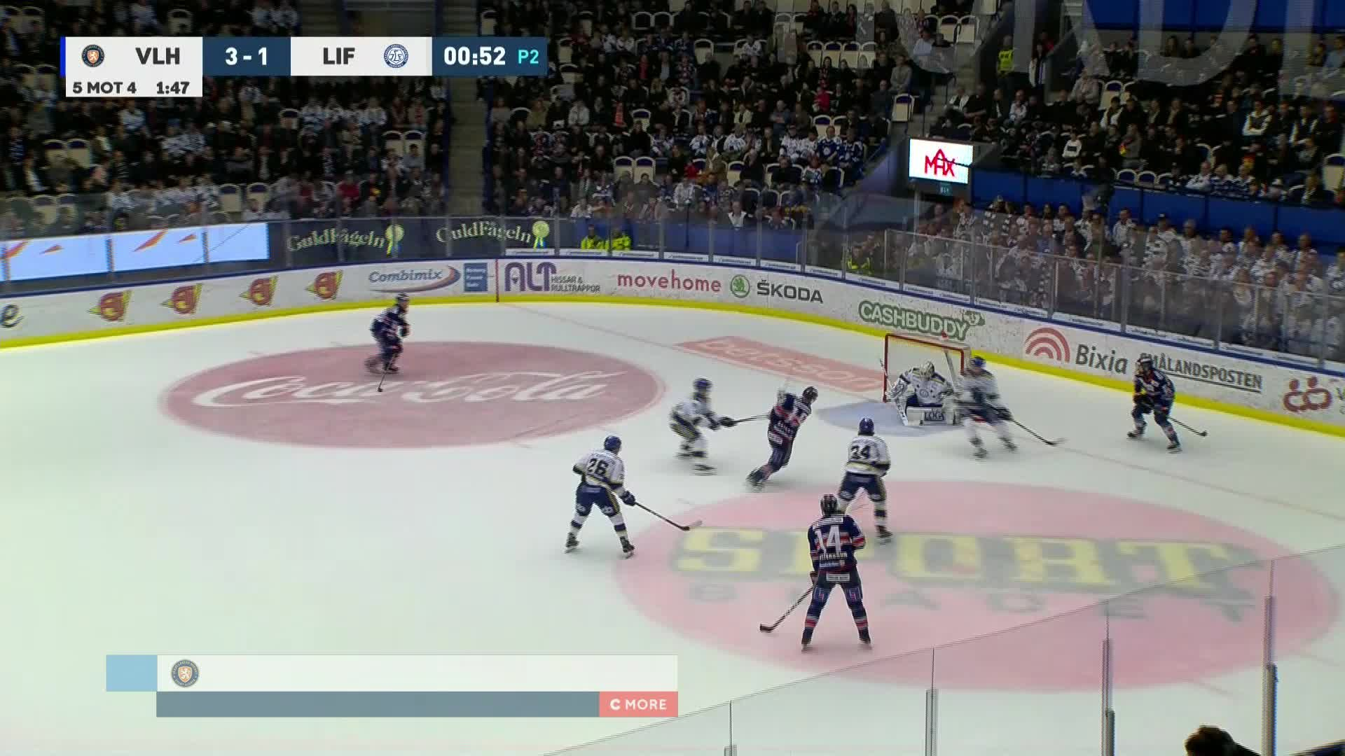 Växjö Lakers - Leksands IF 4-1