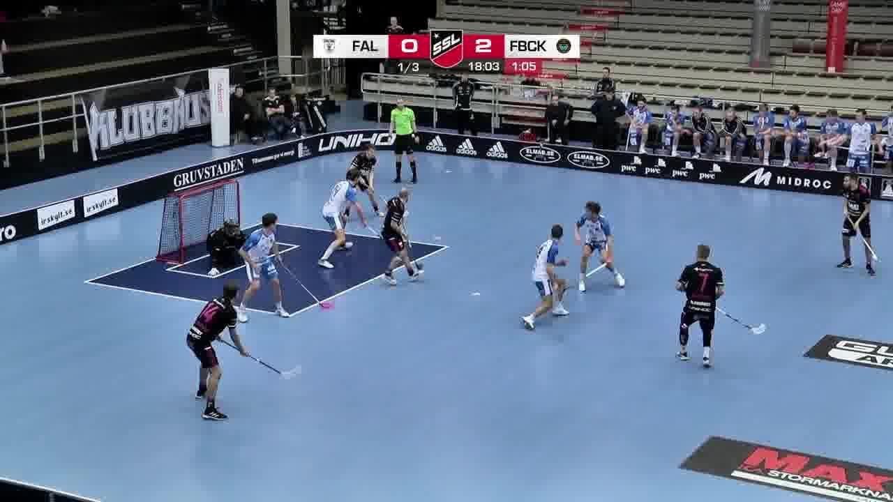 Highlights: IBF Falun-FBC Kalmarsund