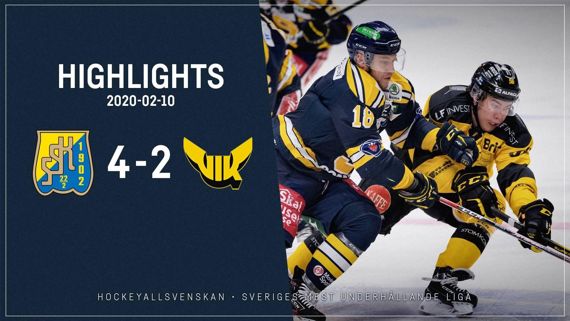 2020-02-10 Södertälje - Västerås 4-2