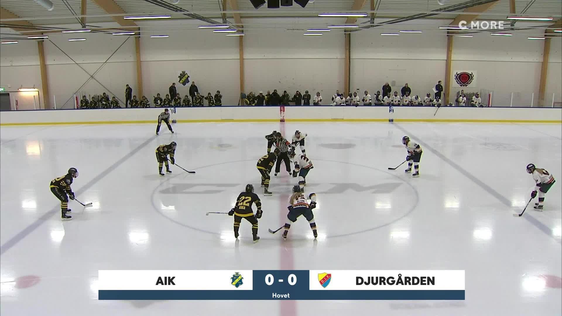 Highlights Kvartsfinal 1: AIK-Djurgården 19 feb