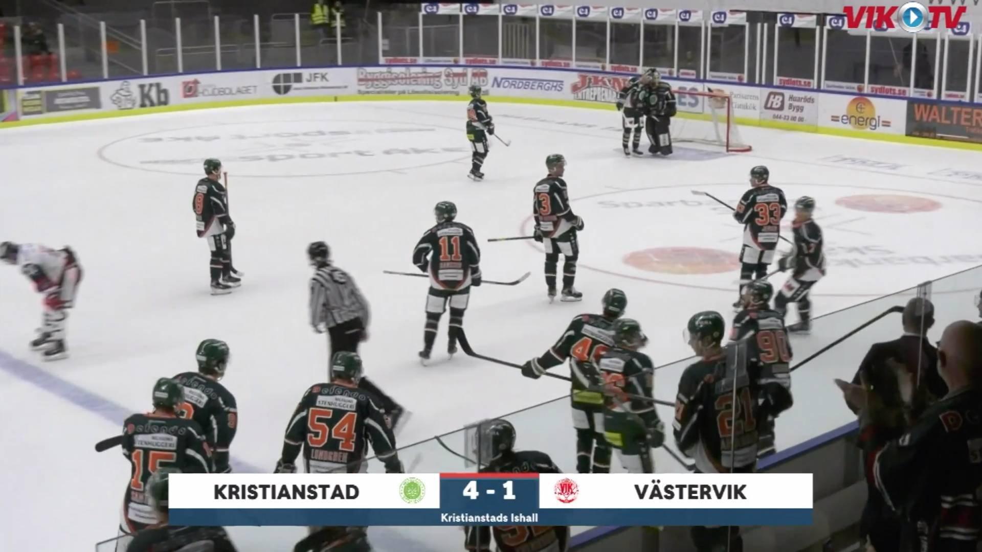 VIK-TV: Highlights Kristianstad-VIK 4-1