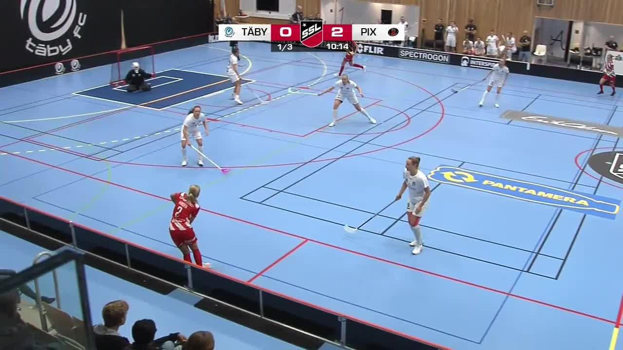 Highlights: Täby FC-Pixbo Wallenstam IBK