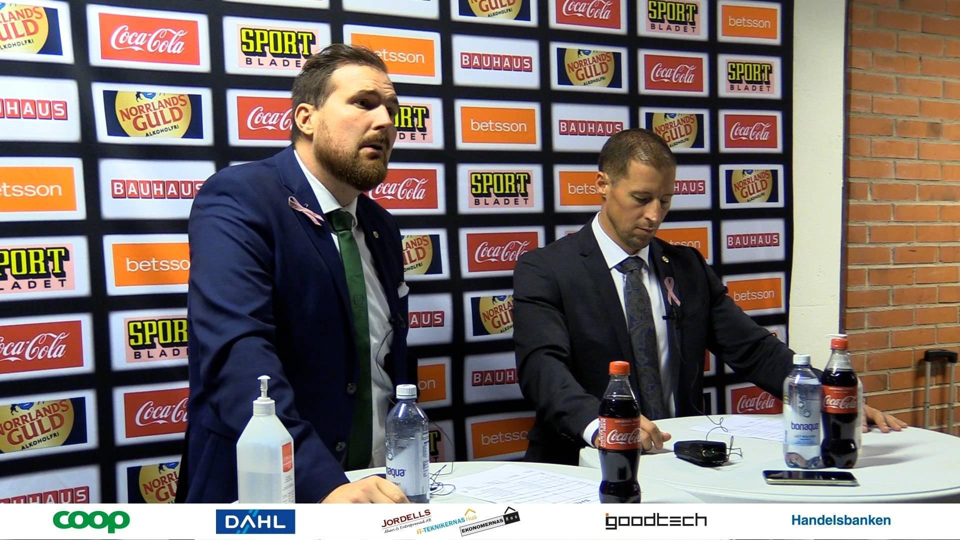 Så sa tränarna efter matchen i Karlstad
