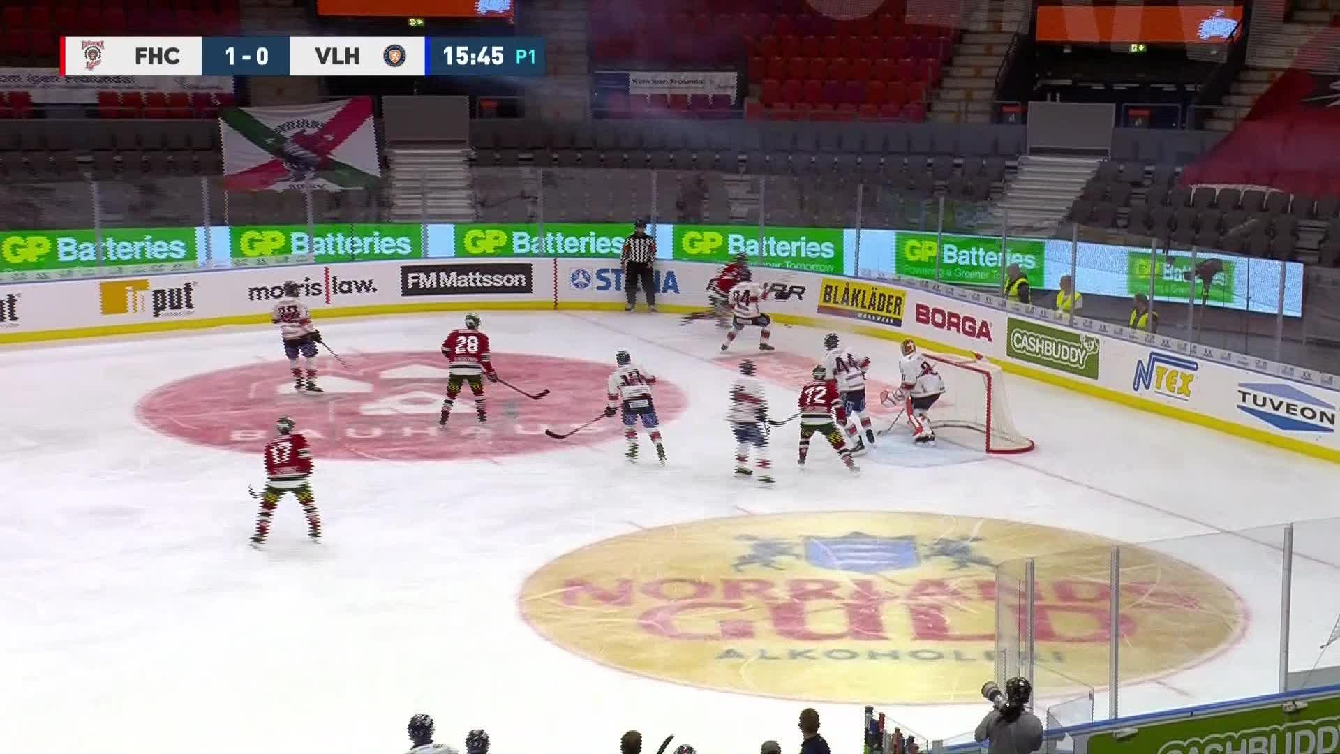 Frölunda HC - Växjö Lakers 2-0