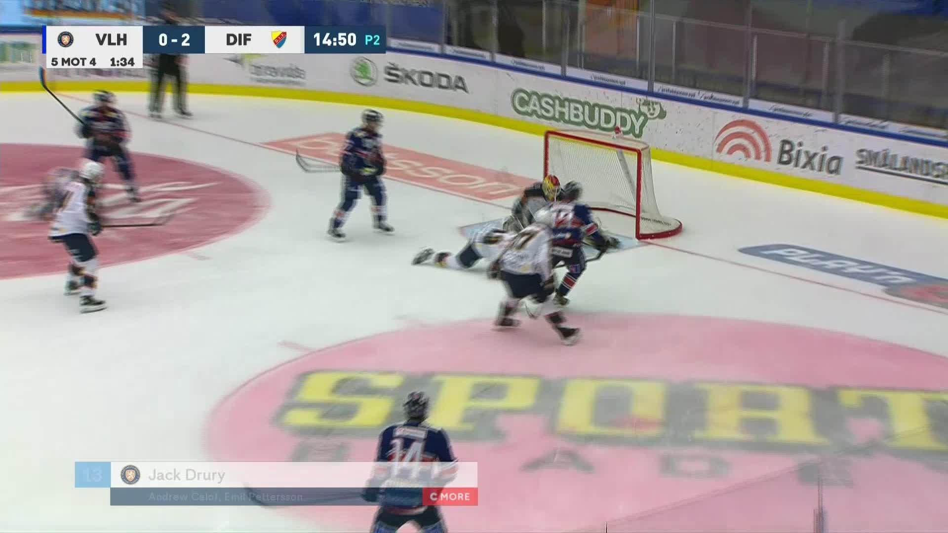Växjö Lakers - Djurgården Hockey 1-2