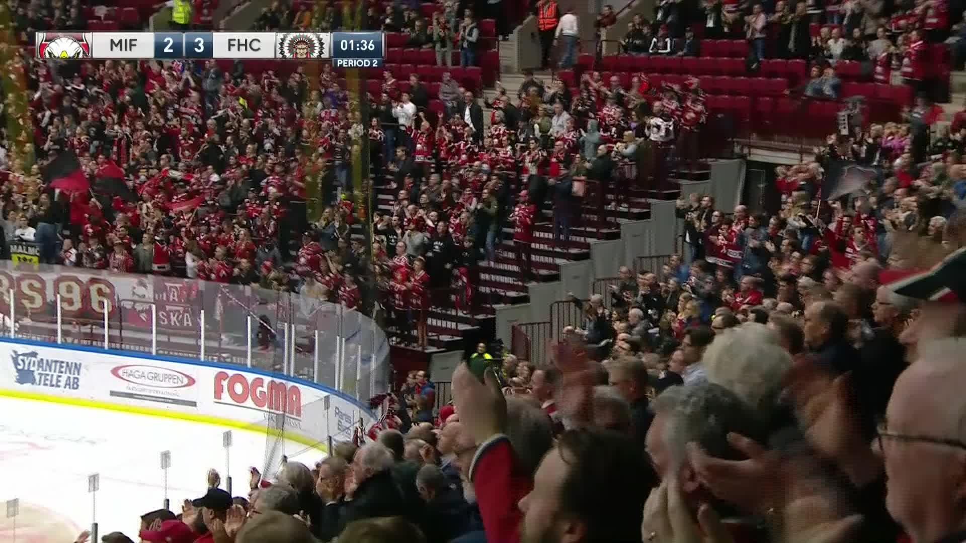Malmö Redhawks - Frölunda HC 2-3