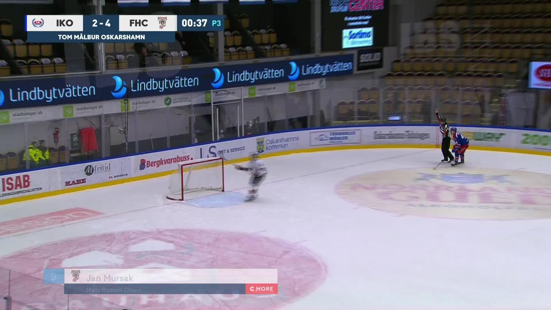 IK Oskarshamn - Frölunda HC 2-5