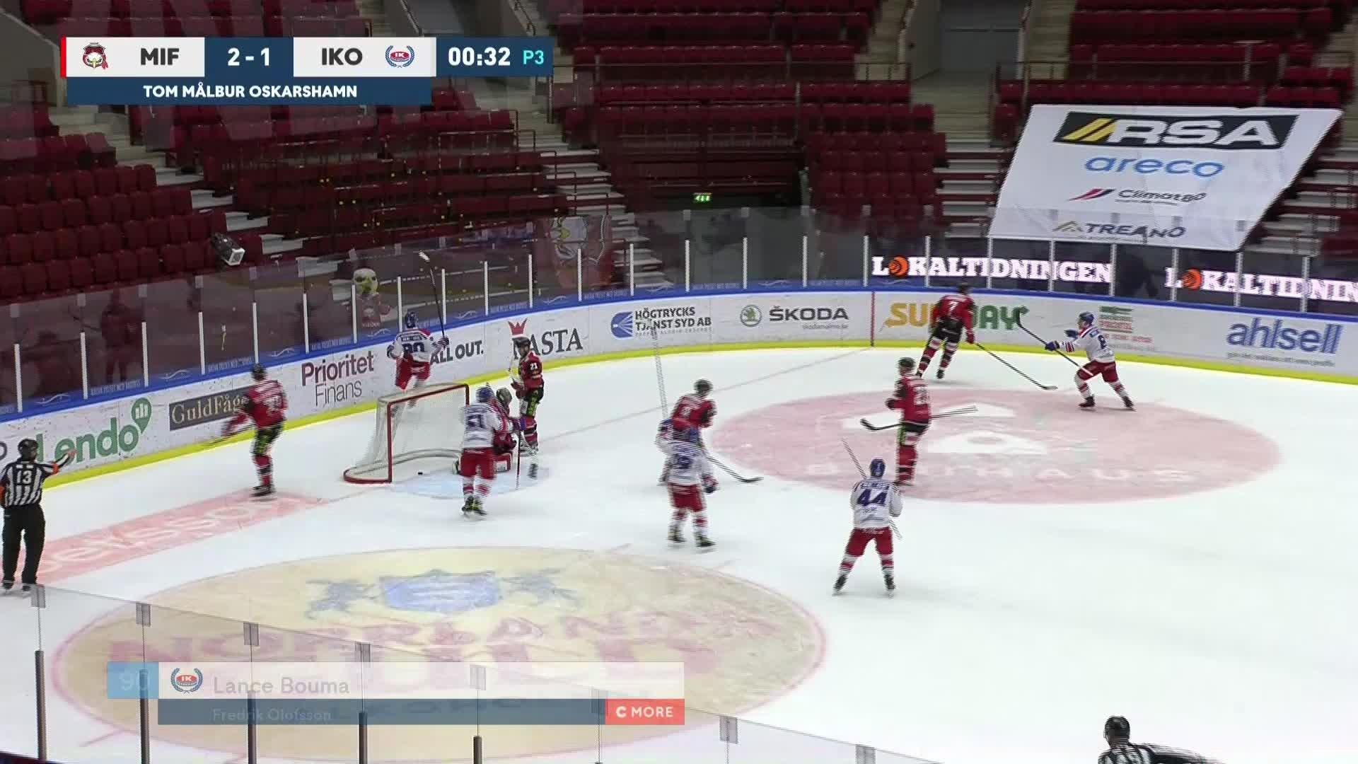 Malmö Redhawks - IK Oskarshamn 2-2
