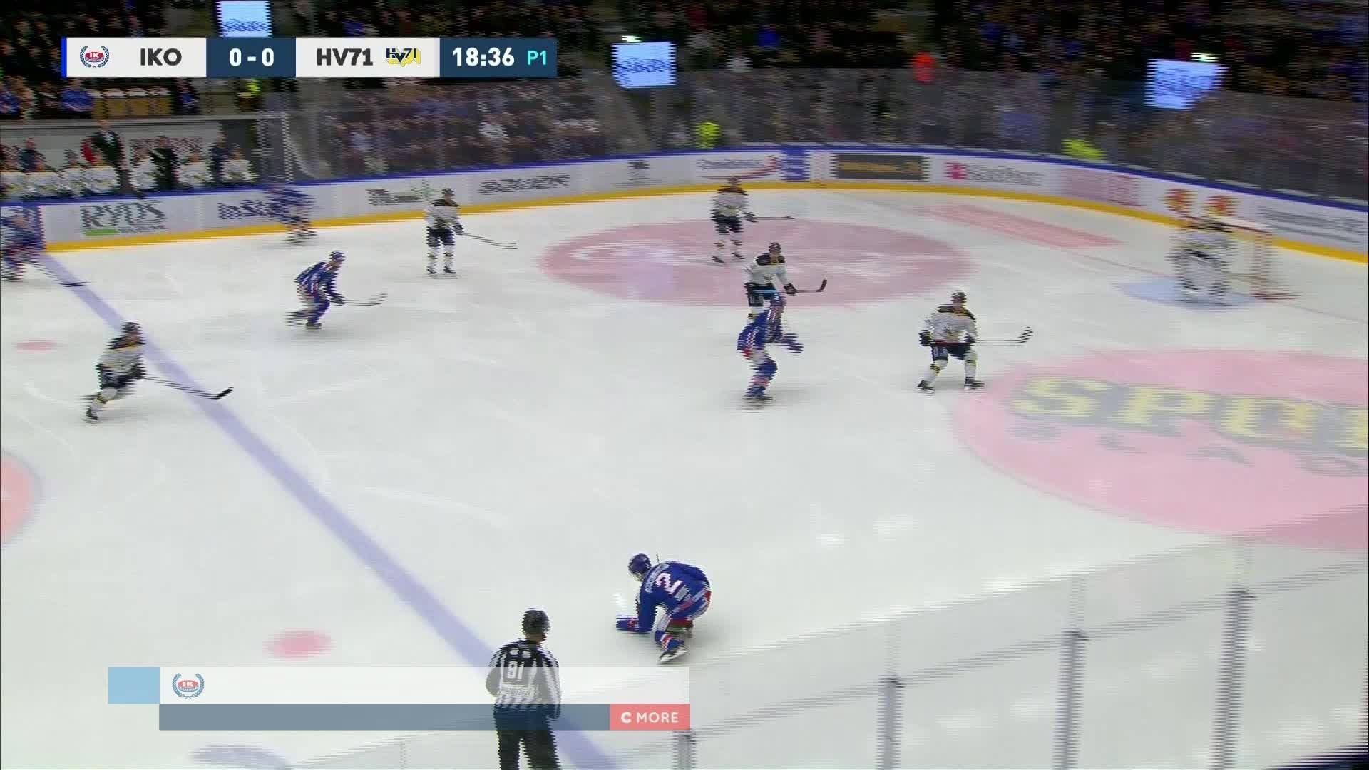 IK Oskarshamn - HV71 1-0