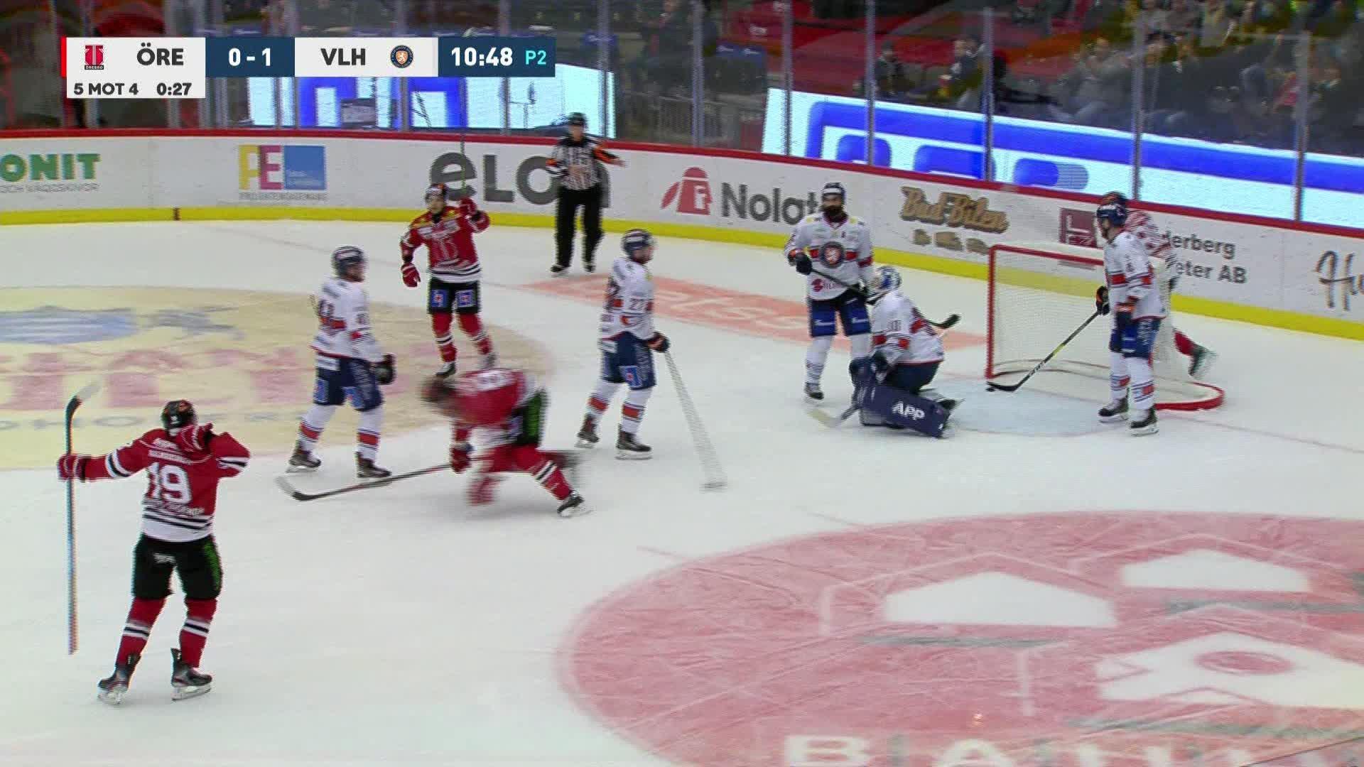 Örebro Hockey - Växjö Lakers 1-1