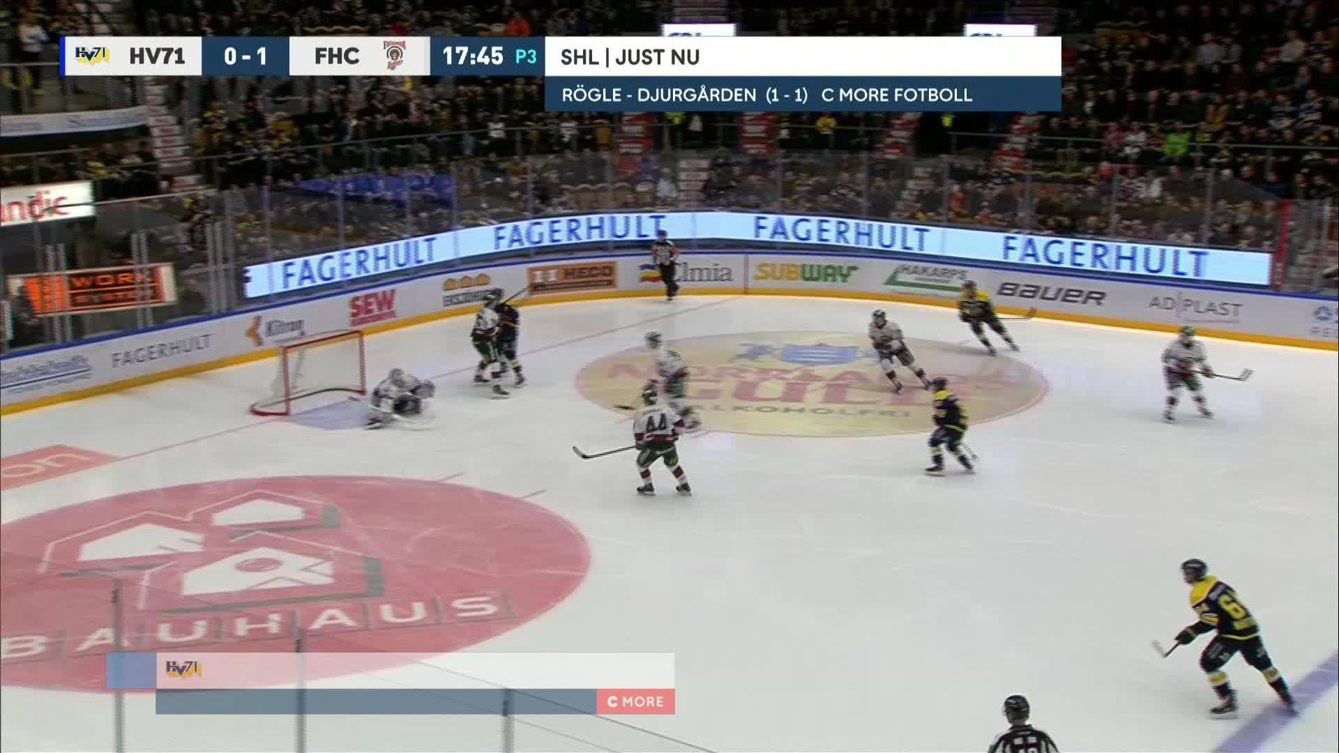 HV71 - Frölunda HC 1-1