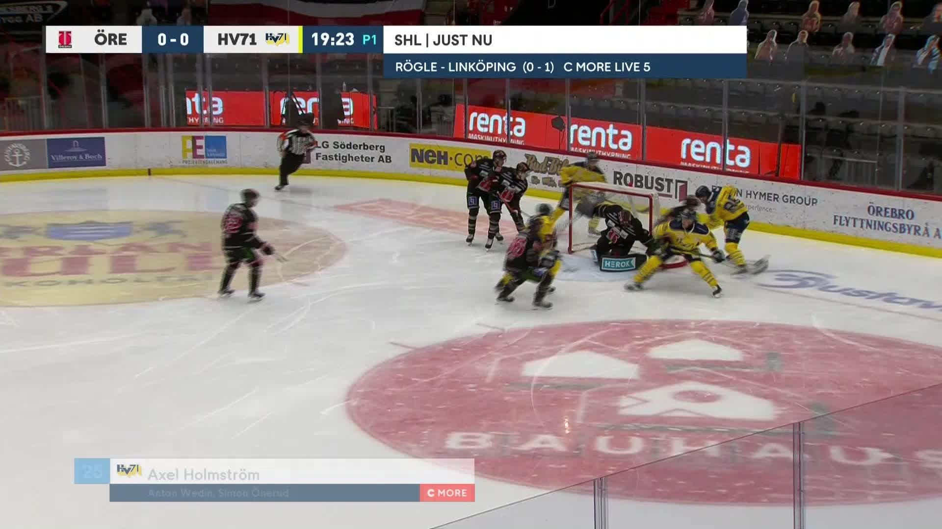 Örebro Hockey - HV71 0-1