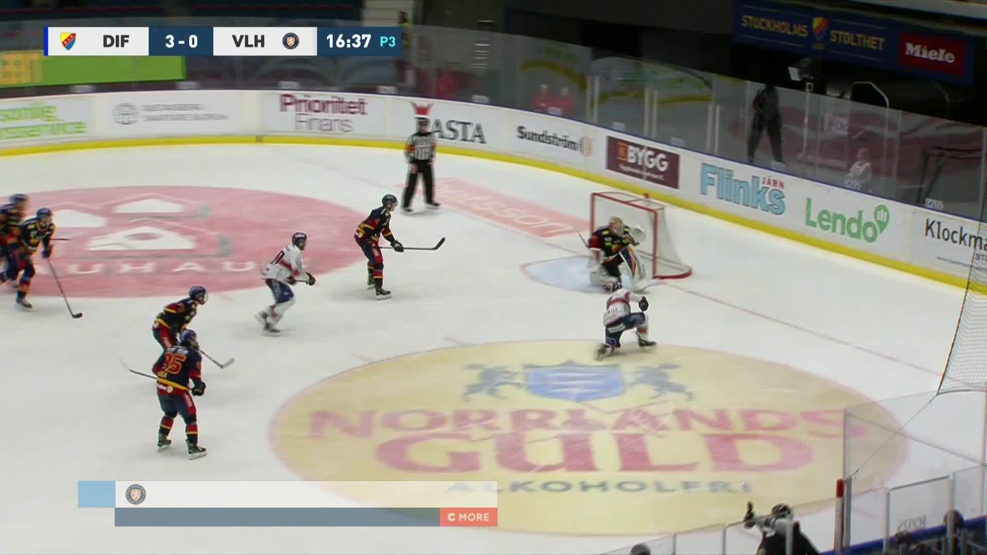 Djurgården Hockey - Växjö Lakers 3-1