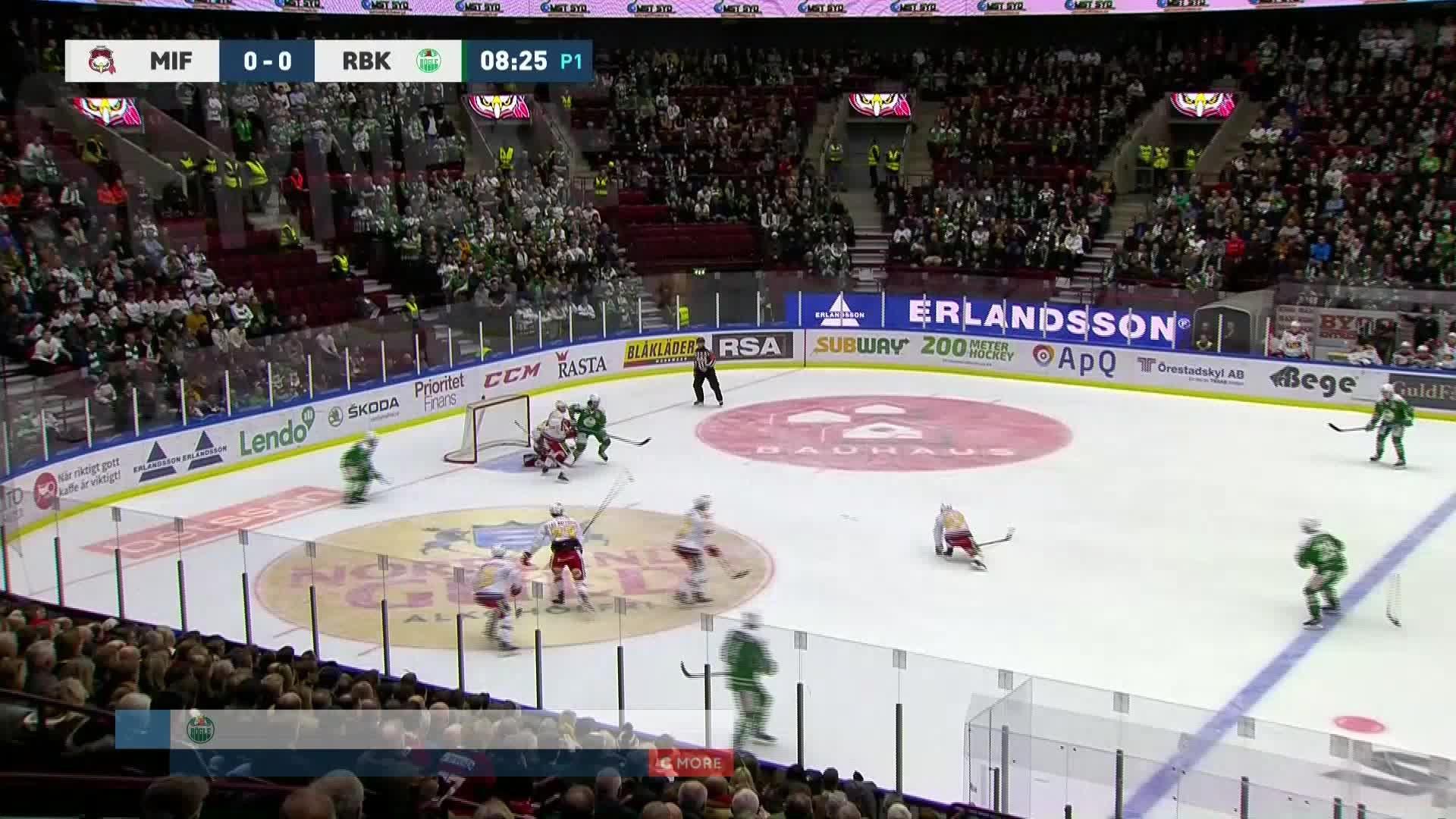Malmö Redhawks - Rögle BK 0-1