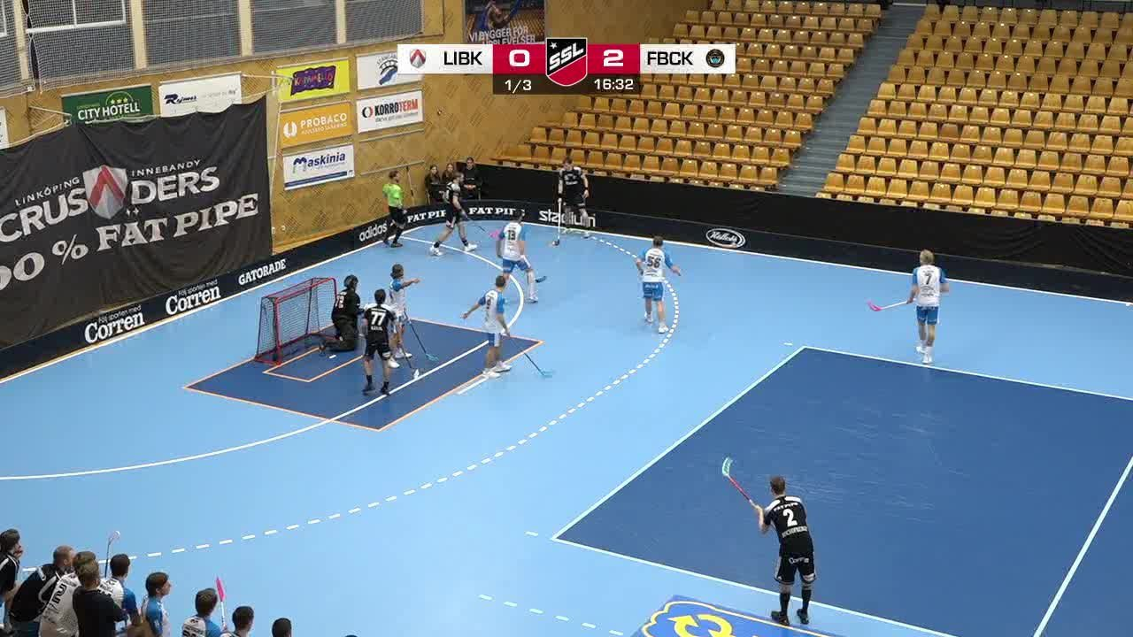Highlights: Linköping Innebandy-FBC Kalmarsund