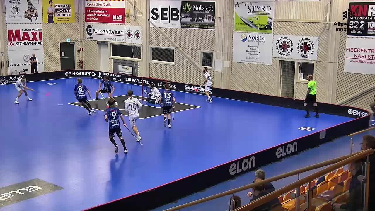 Highlights: Karlstad IBF - Warberg IC