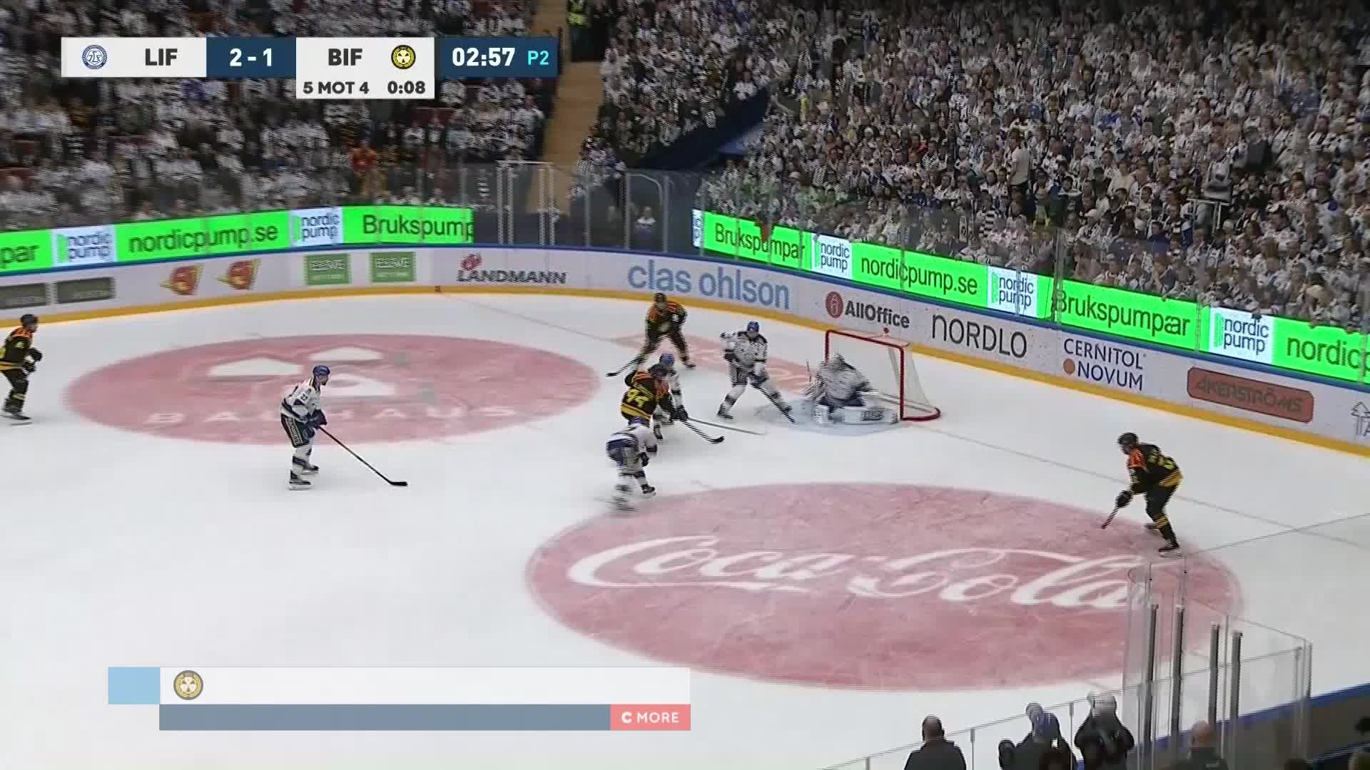 Leksands IF - Brynäs IF 2-2