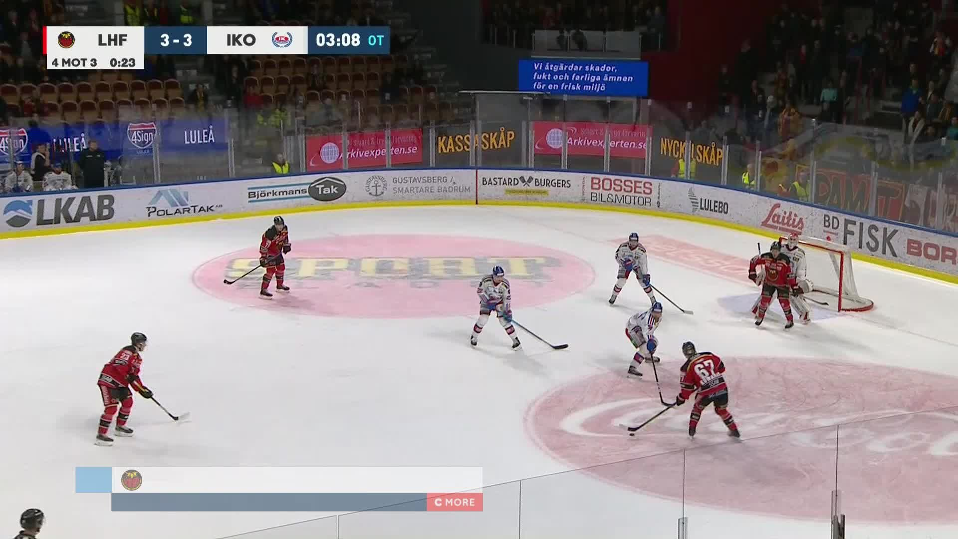 Luleå Hockey - IK Oskarshamn 4-3