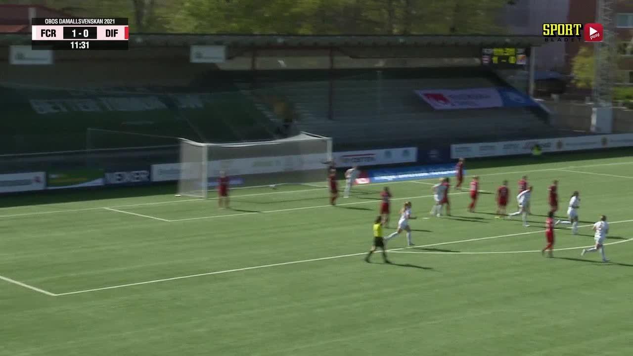 Highlights: FC Rosengård - Djurgårdens IF