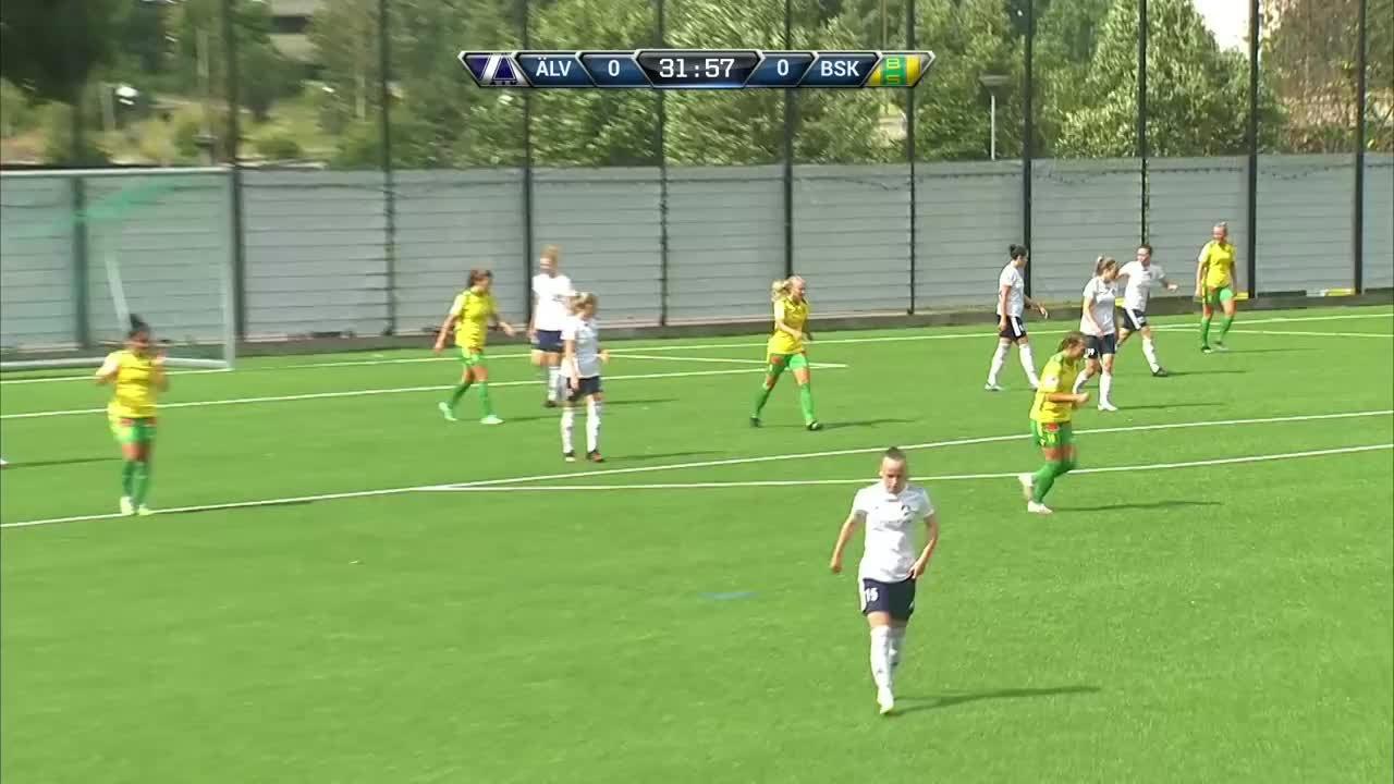 Highlights: Älvsjö AIK FF-Bollstanäs SK