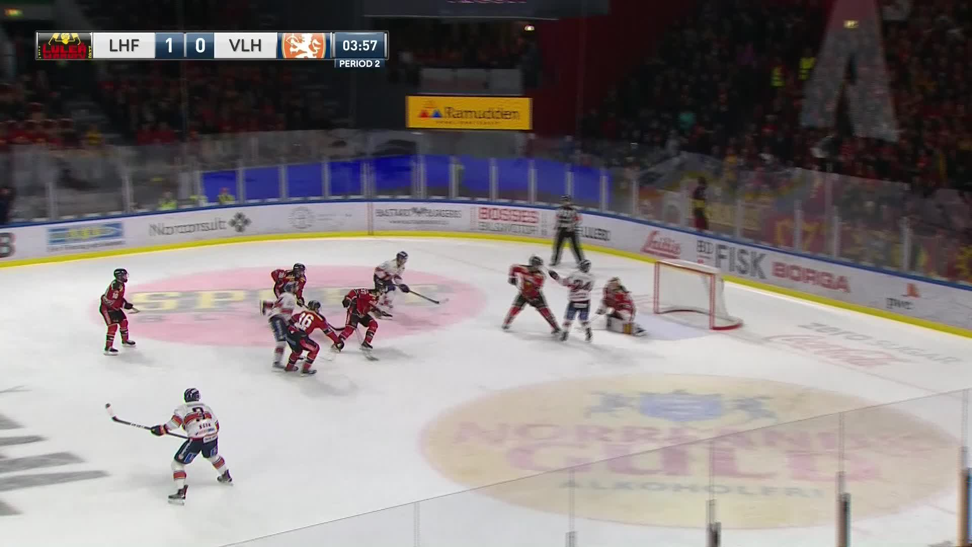 Luleå Hockey - Växjö Lakers 1-1